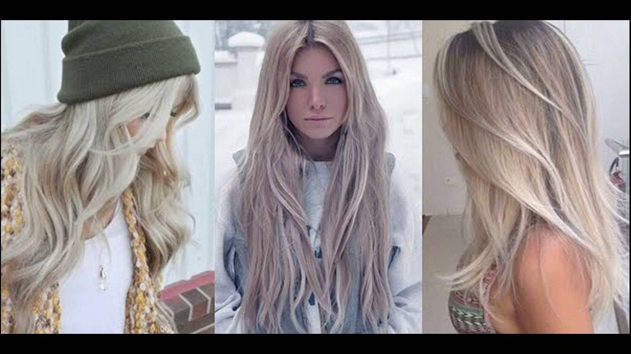 10 Unique Long Blonde Hair Color Ideas light ash blonde hair color ideas youtube