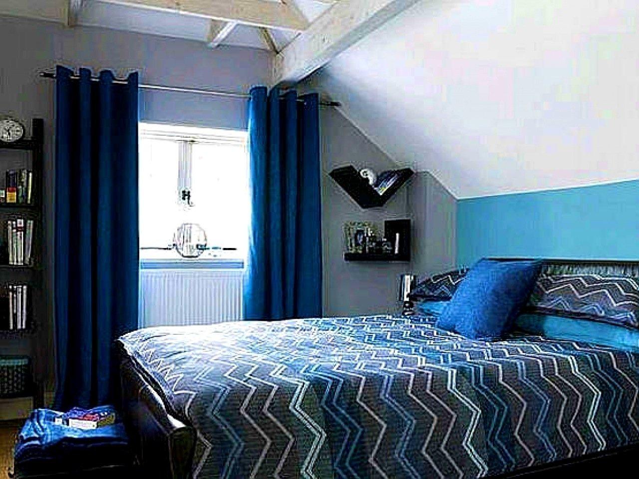 10 Lovable Blue And Black Bedroom Ideas light blue and black bedroom ideas nurani 2020
