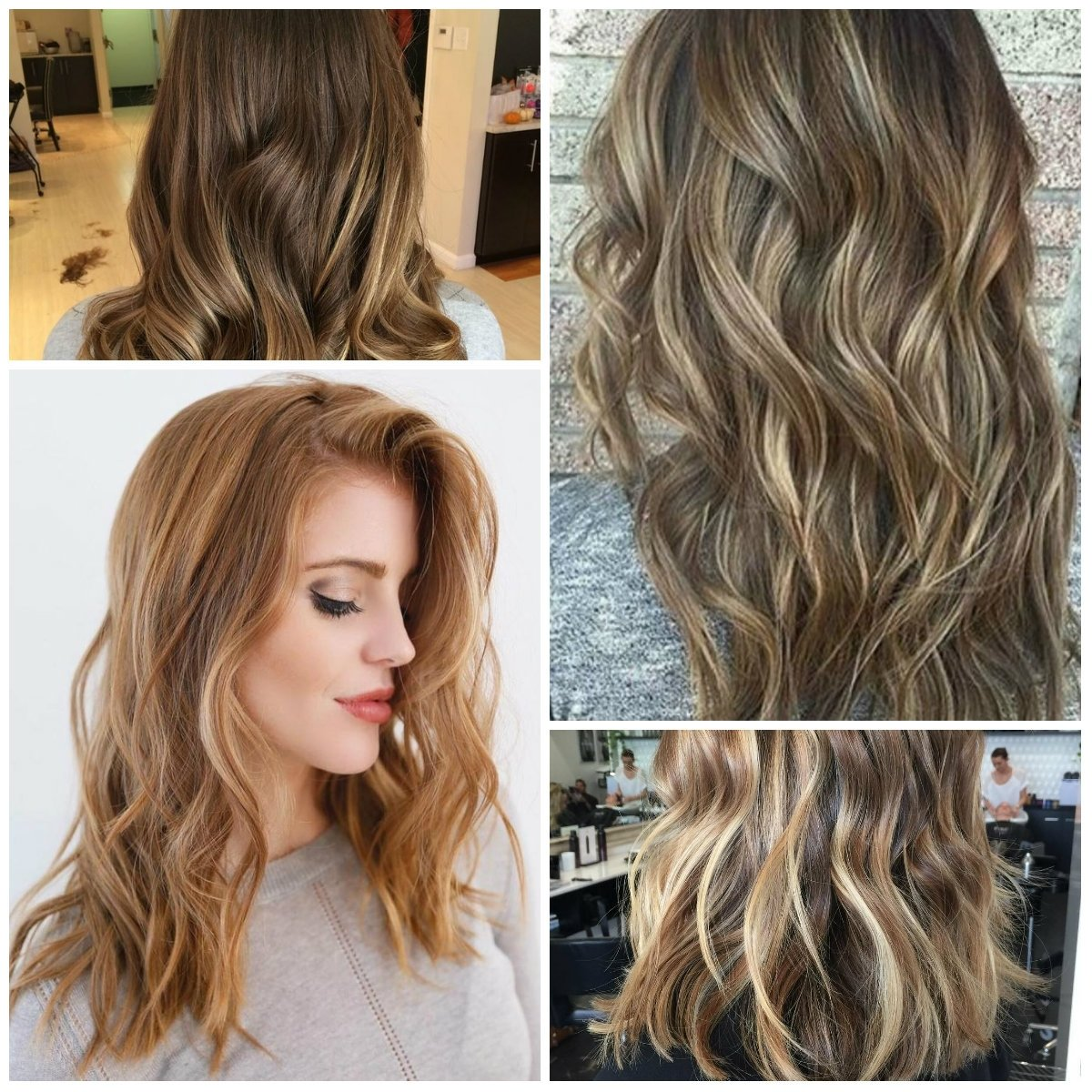 light brown hair colors with highlights for 2017 – best hair color