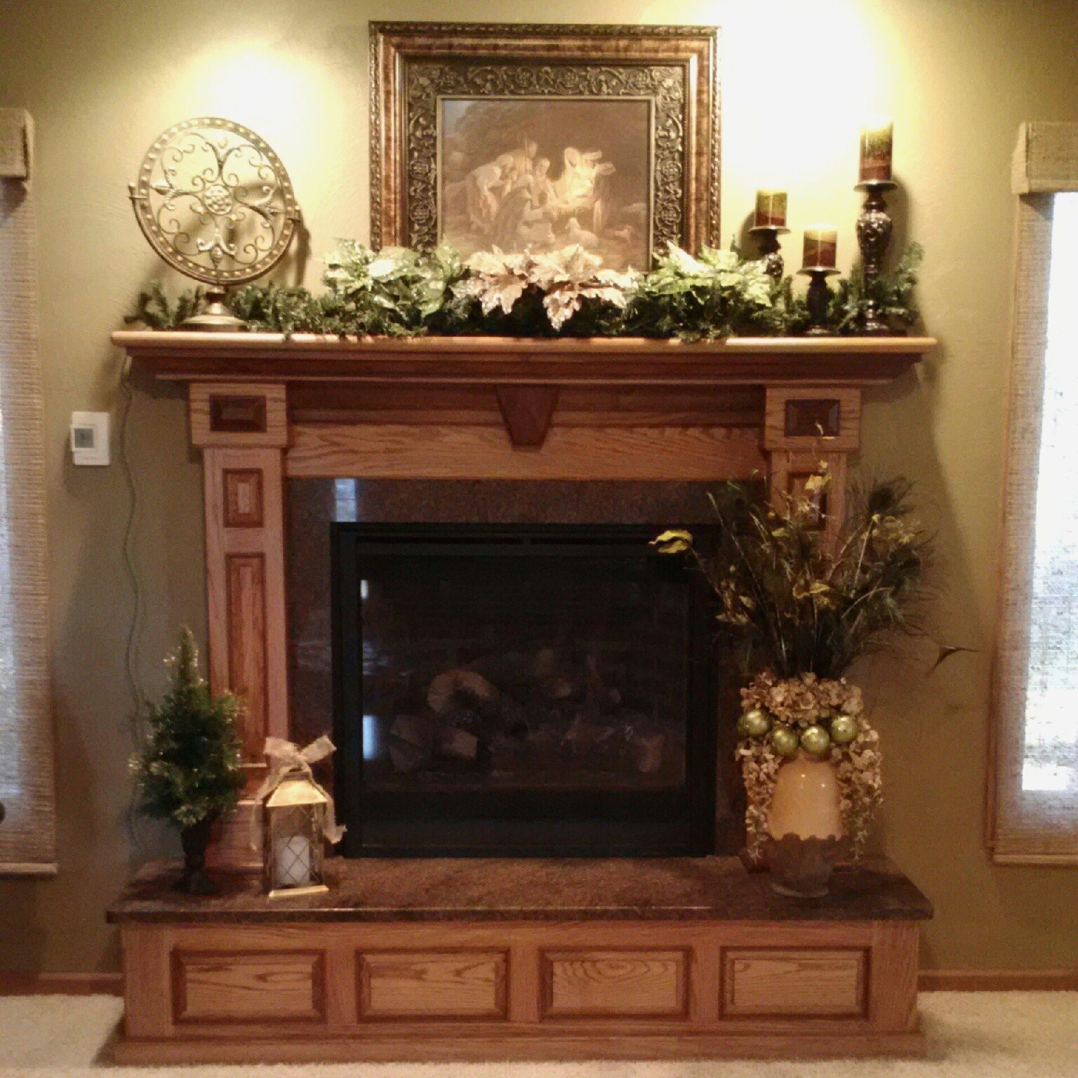 10 Unique Ideas For Fireplace Mantel Decor lighting rustic fireplace mantel decor ideas surround designs