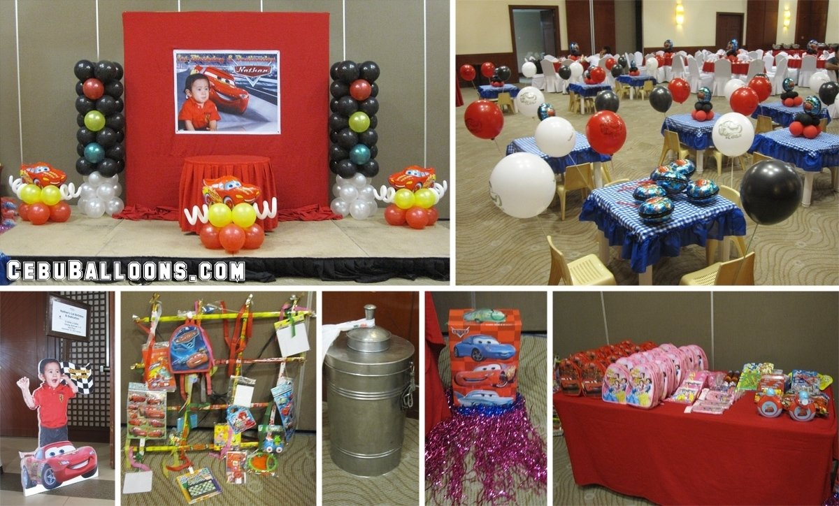 10 stylish lightning mcqueen birthday party ideas lightning mcqueen themed party ideas e280a2 lighting ideas