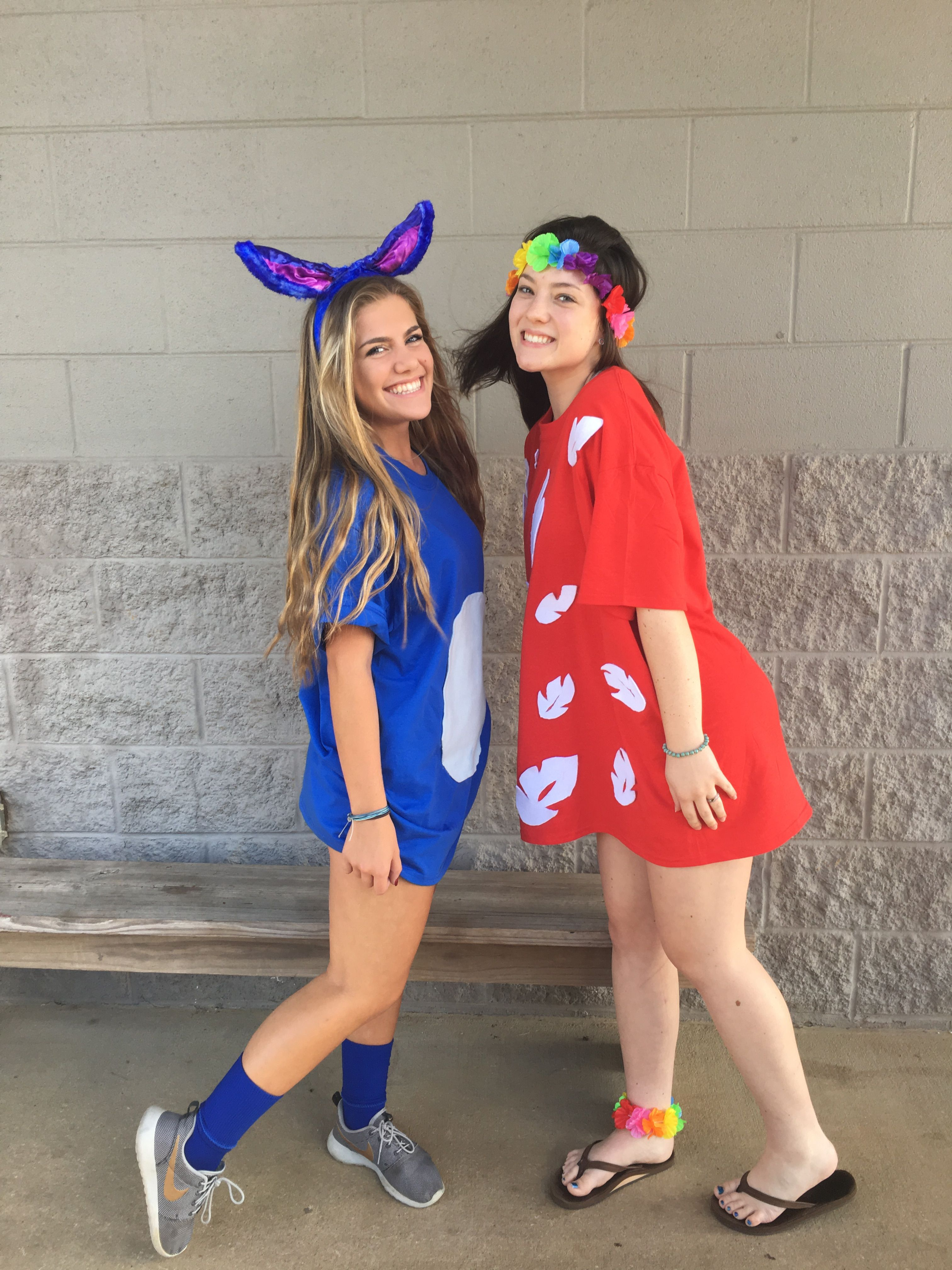 lilo and stitch diy costume | halloween | bff halloween costumes