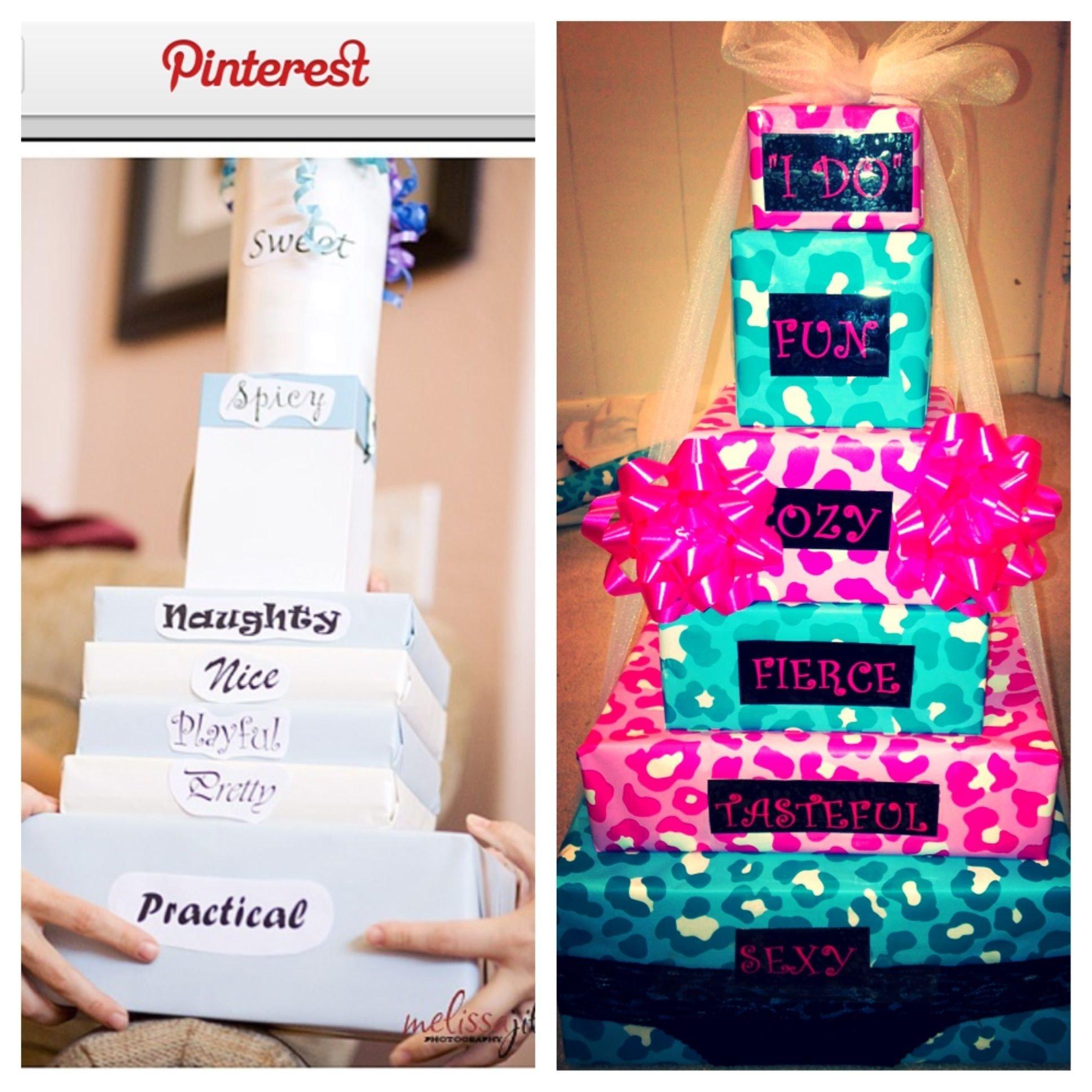 10 Fantastic Cute Bachelorette Party Gift Ideas lingerie party gift my own pinterest lingerie party 2021
