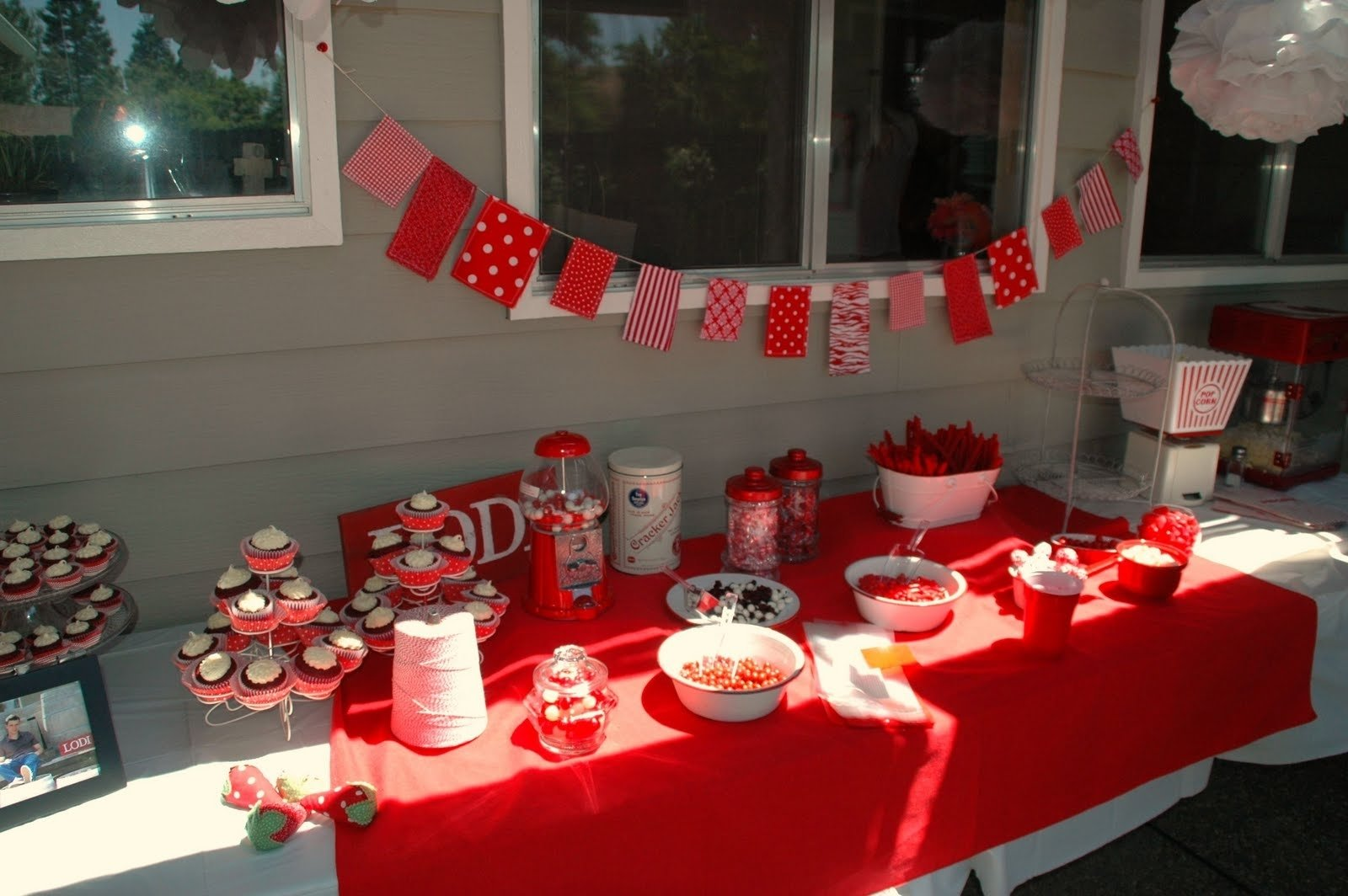 10 Spectacular Red And White Party Ideas lipstick and laundry red and white graduation party 2021
