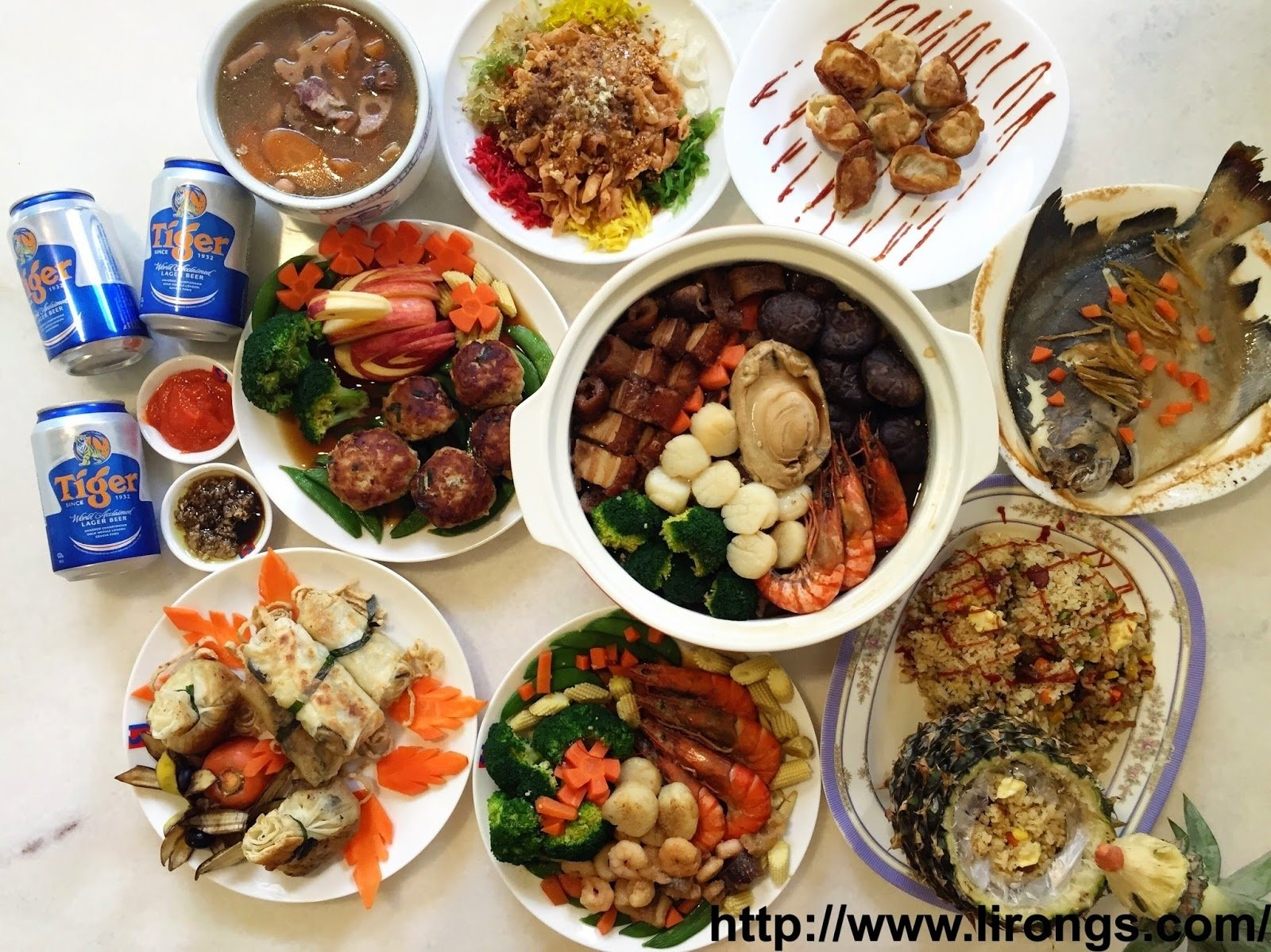 10 Lovely Chinese New Year Food Ideas lirong a singapore food and lifestyle blog recipe singapore