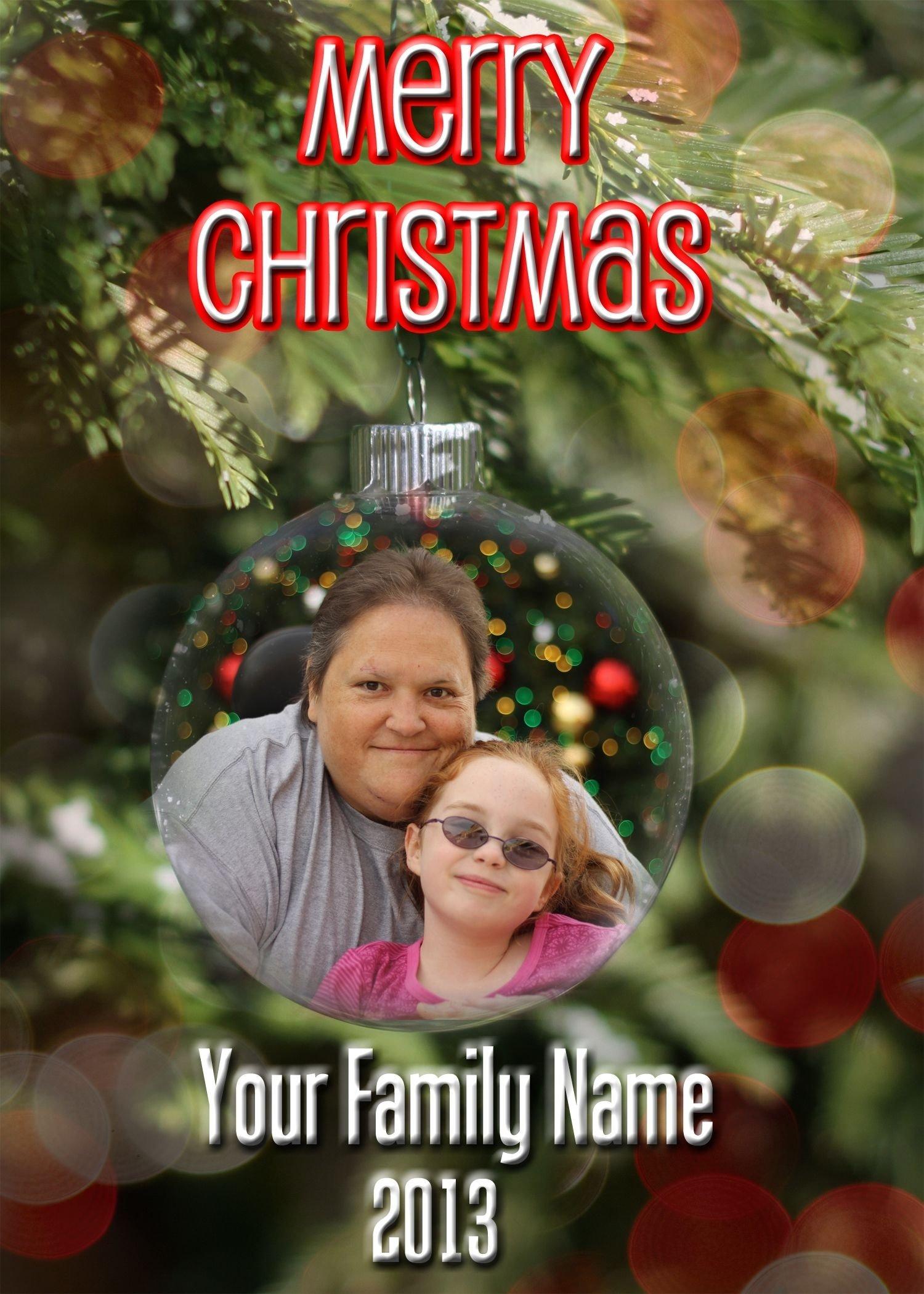 10 Fashionable Creative Christmas Card Photo Ideas lisadh i will create a christmas card with your photo in an 2021
