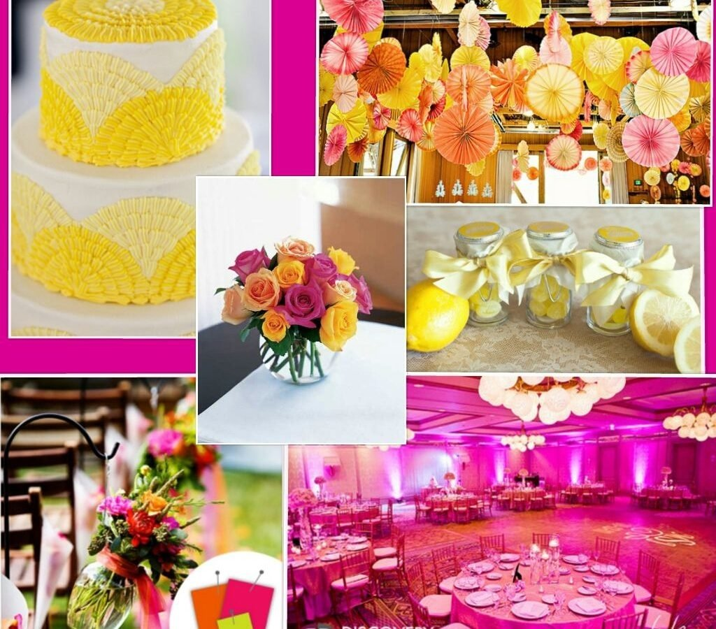 10 Attractive Pink And Orange Wedding Ideas literarywondrous pink and yellow wedding ideas hot light colors