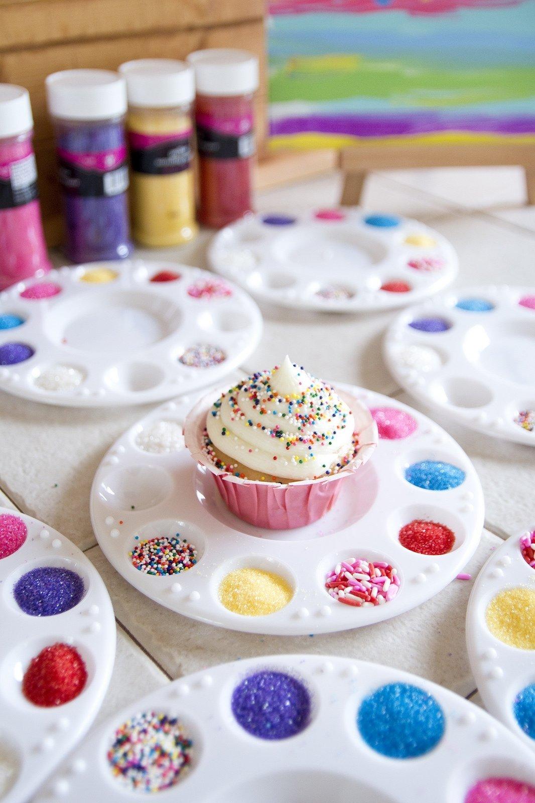 10 Stunning Birthday Ideas For Little Girls little artist party happy 5th birthday rowan jen loves kev 2021