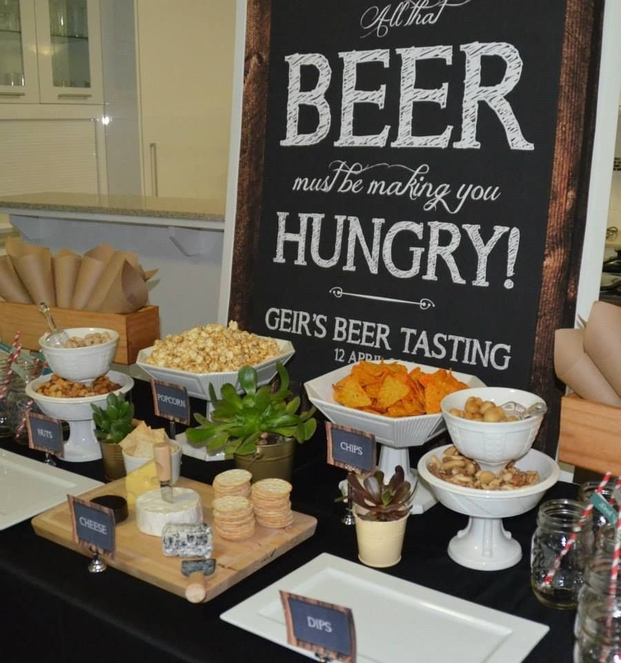 10 Amazing 30Th Birthday Party Ideas For Husband Little Big Company The Blog A Beer Tasting