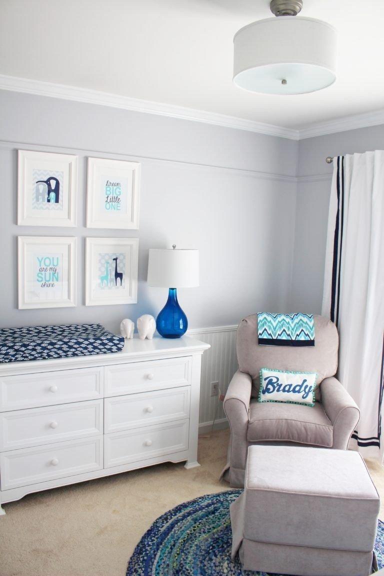 10 Unique Baby Boy Room Decor Ideas little boy blue nursery nursery babies and room