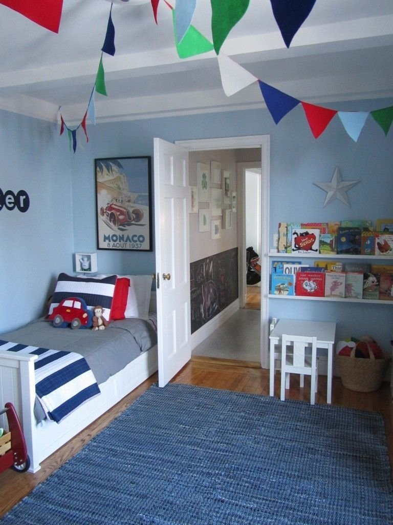 10 Fantastic Toddler Room Ideas For Boys little bs big boy room magnetic paint chalkboard paint and 2021