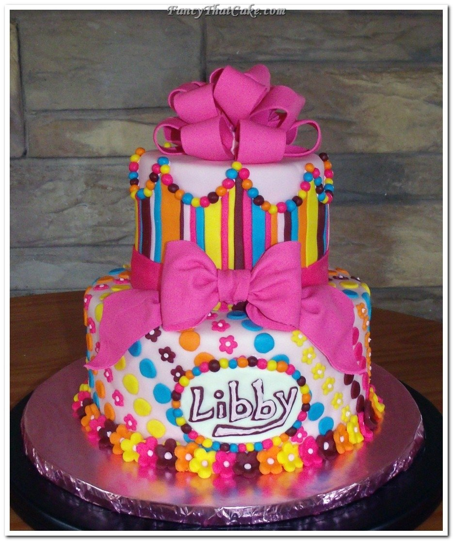 little girl birthday cakes images | pretty little girls birthday
