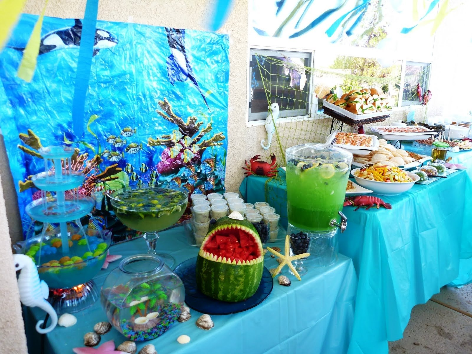 10 Gorgeous Under The Sea Theme Ideas little girl birthday with a under the sea theme reminds of the 2021