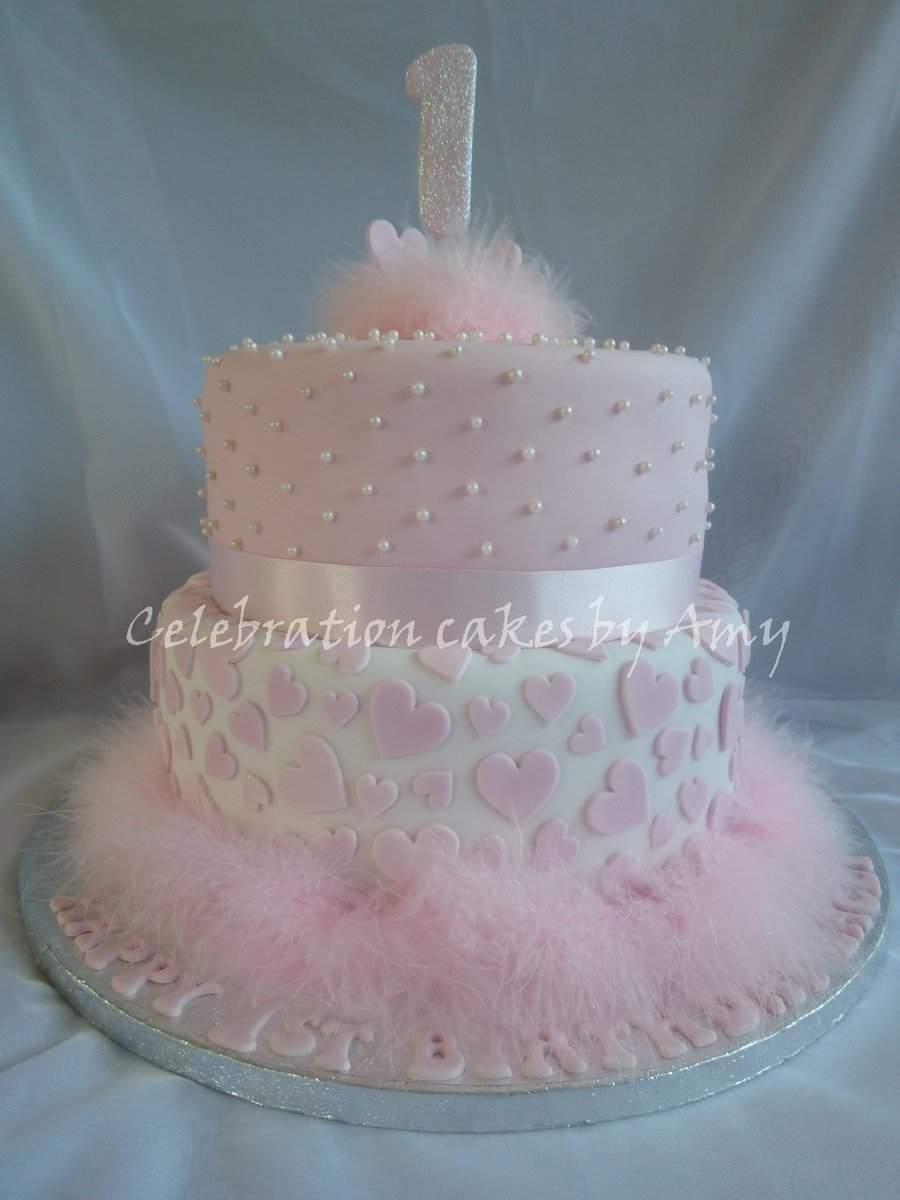 10 Beautiful 1St Birthday Cake Ideas For Girl little girls 1st birthday cake cakecentral 2020