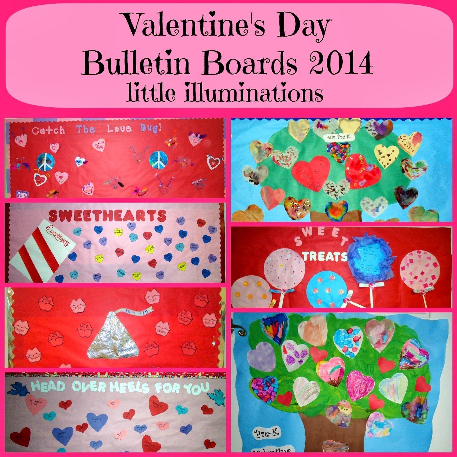 10 Stunning Valentines Day Bulletin Board Ideas For Preschool little illuminations valentines day bulletin boards 2014 3