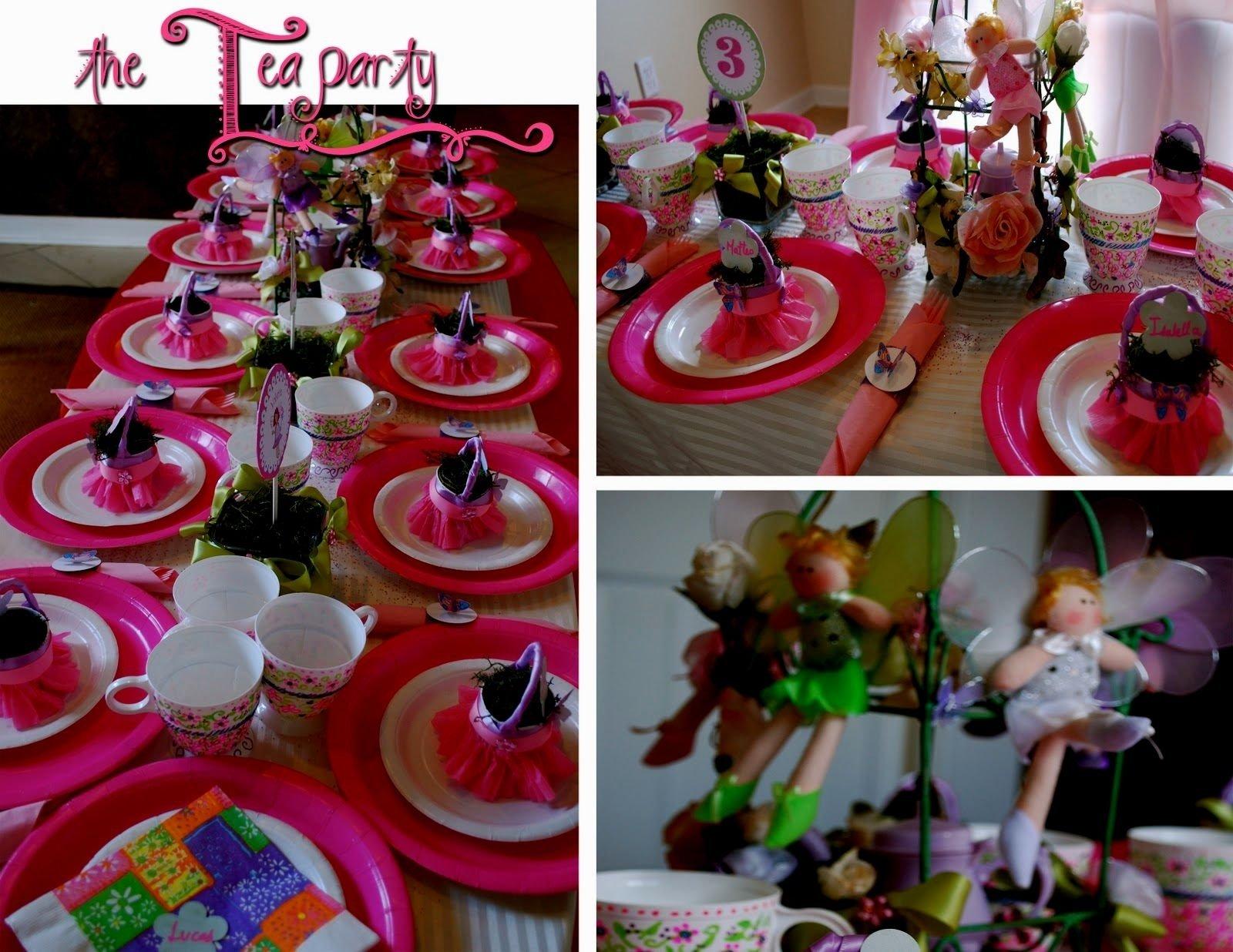10 Wonderful Tea Party Ideas For Little Girls little kid tea party ideas decorating of party 1 2021