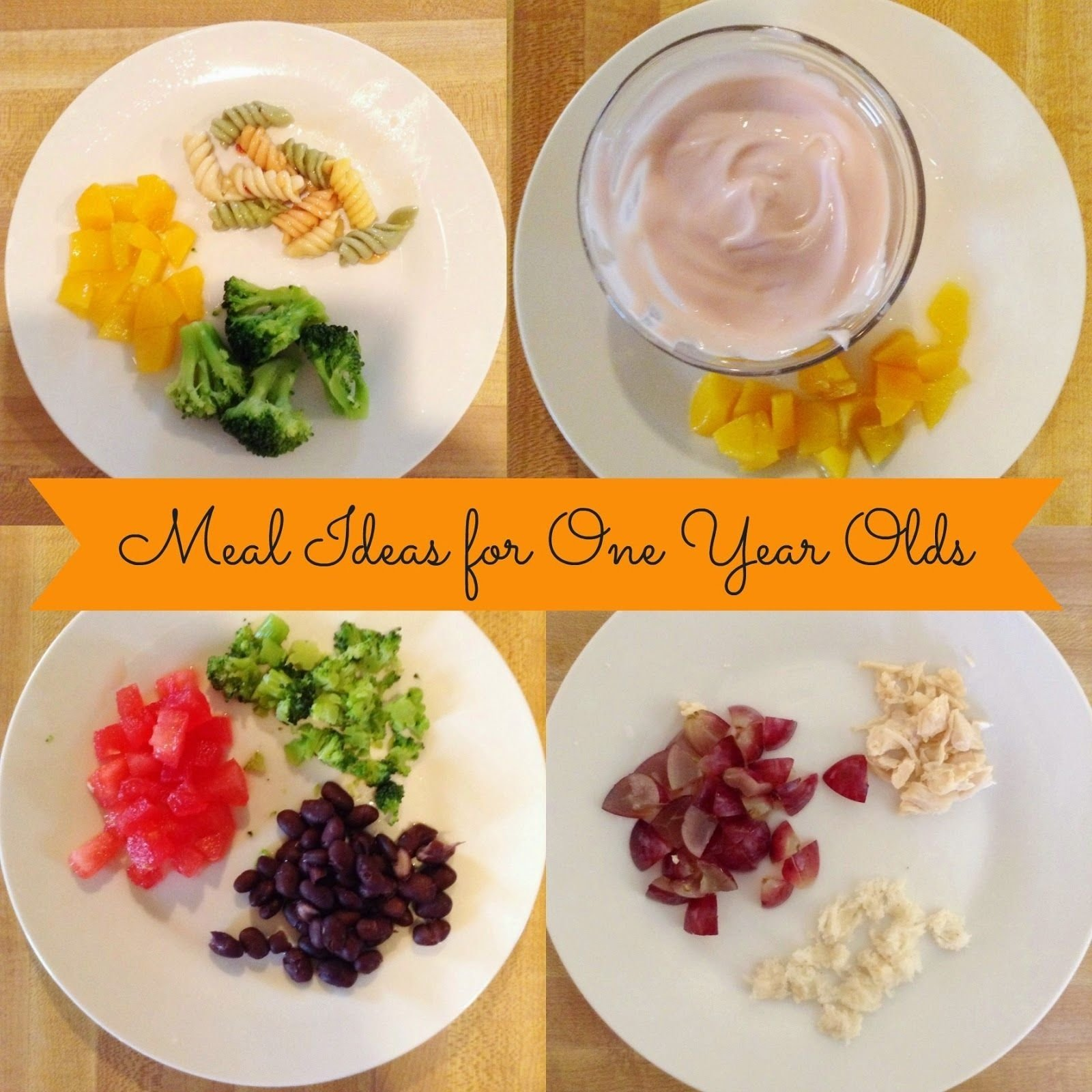 10 Fabulous 1 Year Old Meal Ideas little madi grace meals ideas for one year old baby toddler food 9 2021