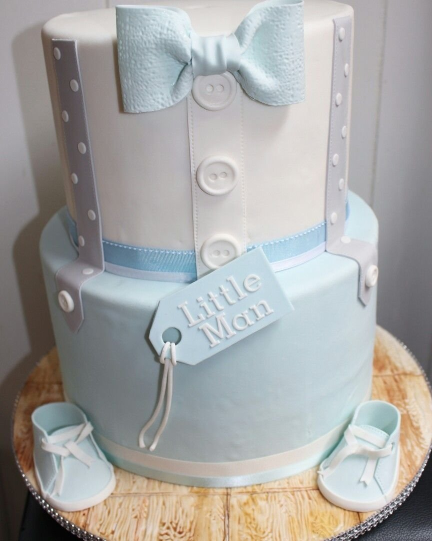 10 Amazing Baby Shower Boy Cake Ideas little man baby shower cake my cake creations pinterest shower 1 2020
