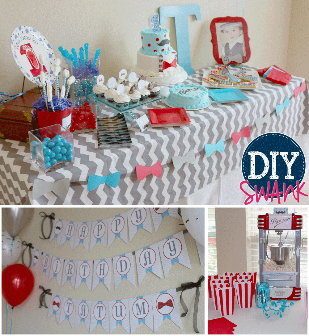 10 Best Little Man Birthday Party Ideas little man first birthday party diy swank 2