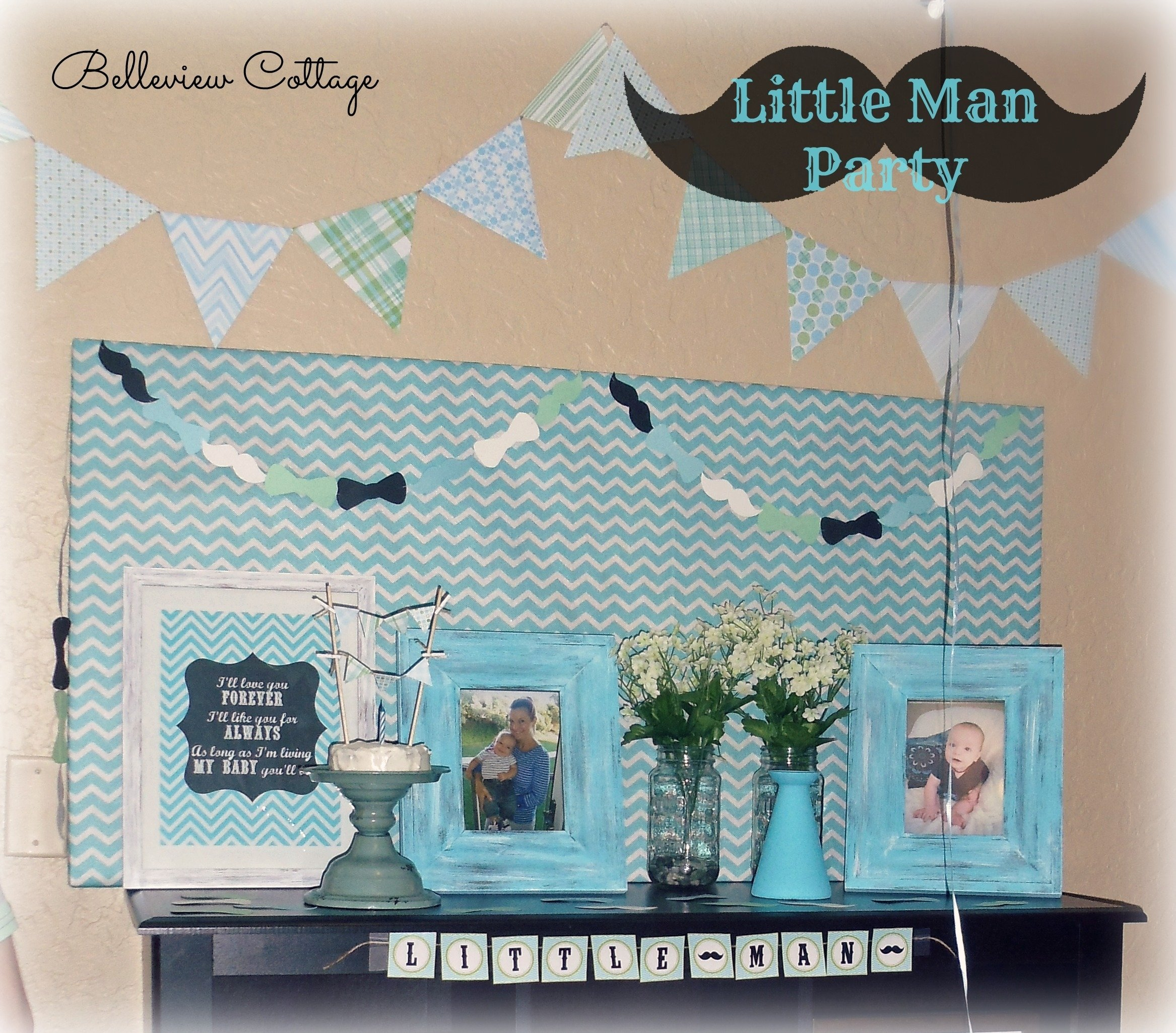 "little man"" first birthday party! 