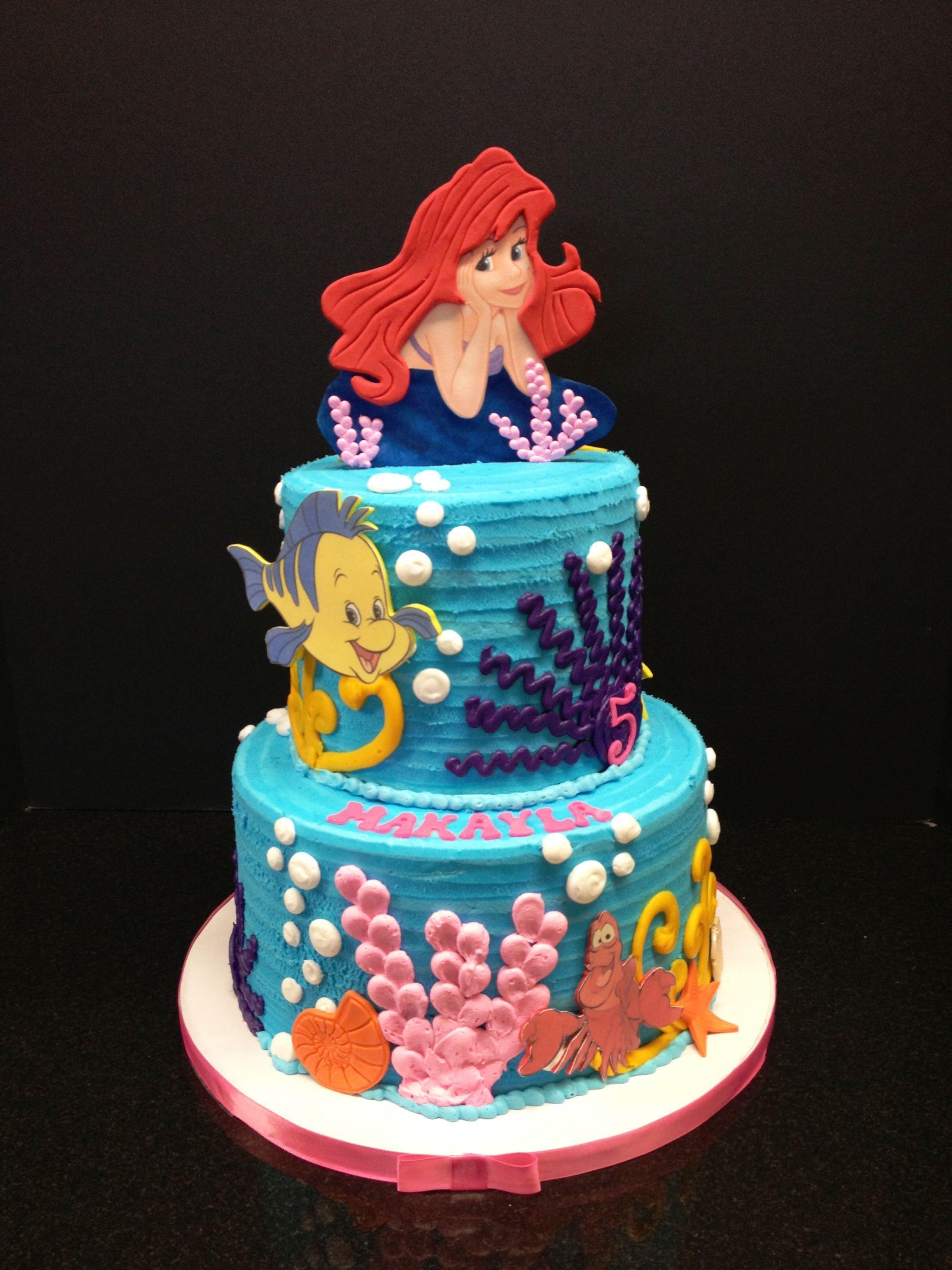 10 Great Little Mermaid Birthday Cake Ideas little mermaid birthday cake creative with homemade cake 2021