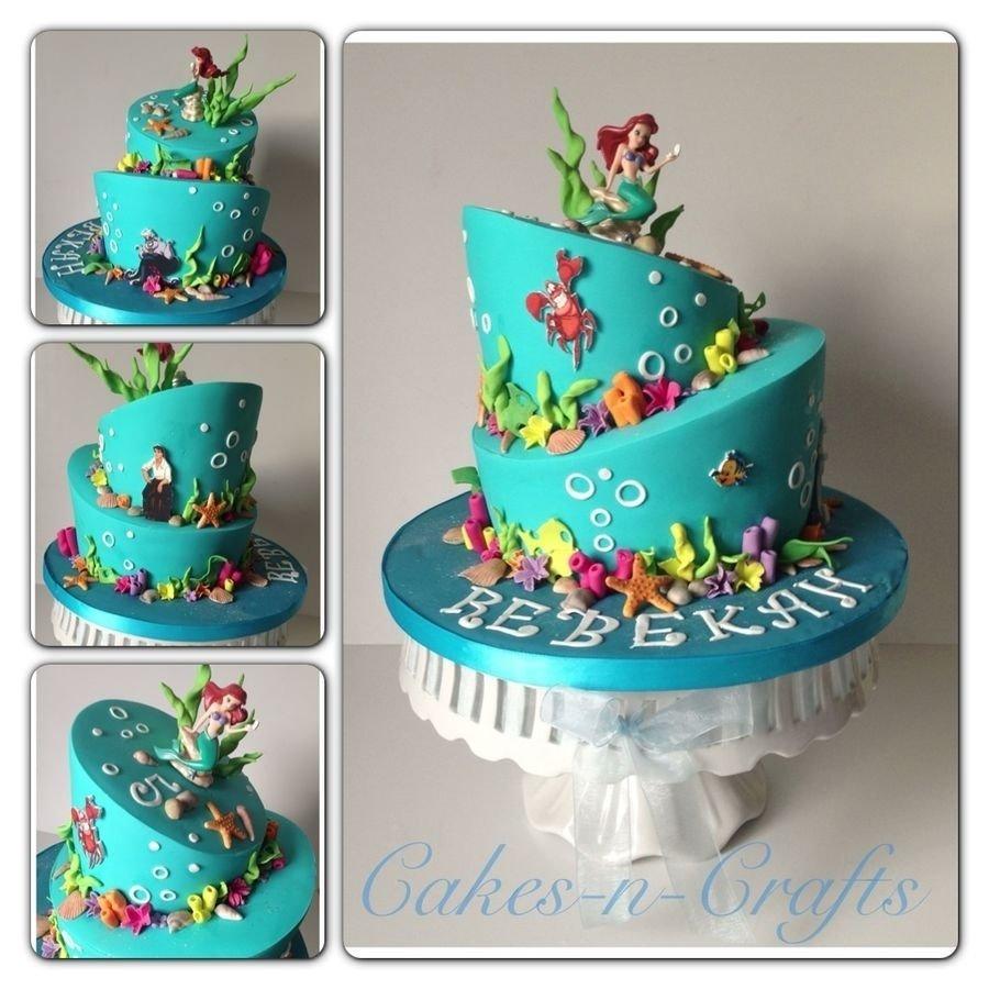 10 Great Little Mermaid Birthday Cake Ideas little mermaid birthday cake how to decorate it cambrias 4th bday 2021