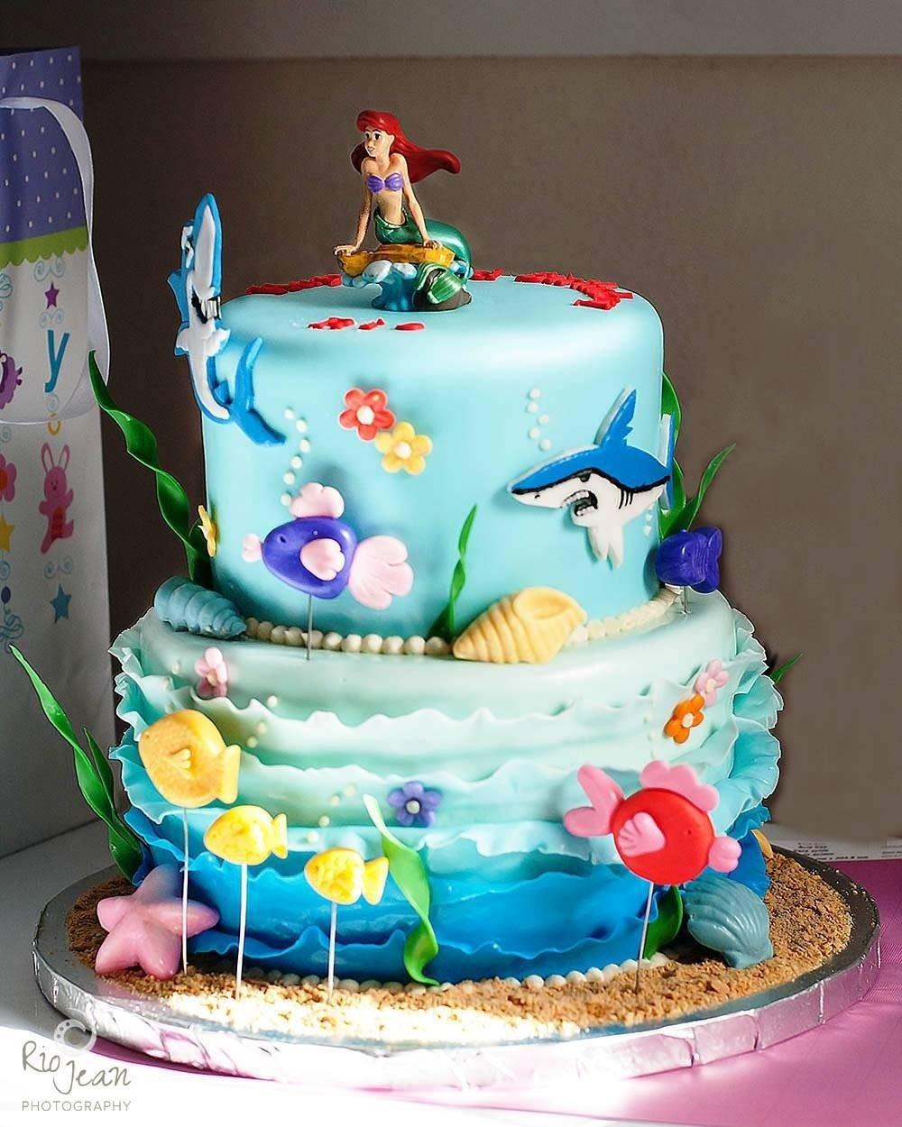 10 Great Little Mermaid Birthday Cake Ideas little mermaid birthday cake idea protoblogr design little 2021
