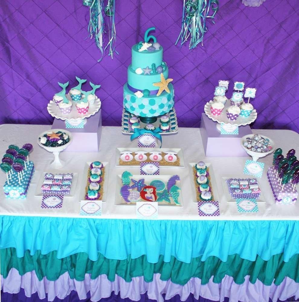 10 Pretty Little Mermaid Birthday Party Ideas little mermaid birthday party ideas mermaid parties mermaid 2021