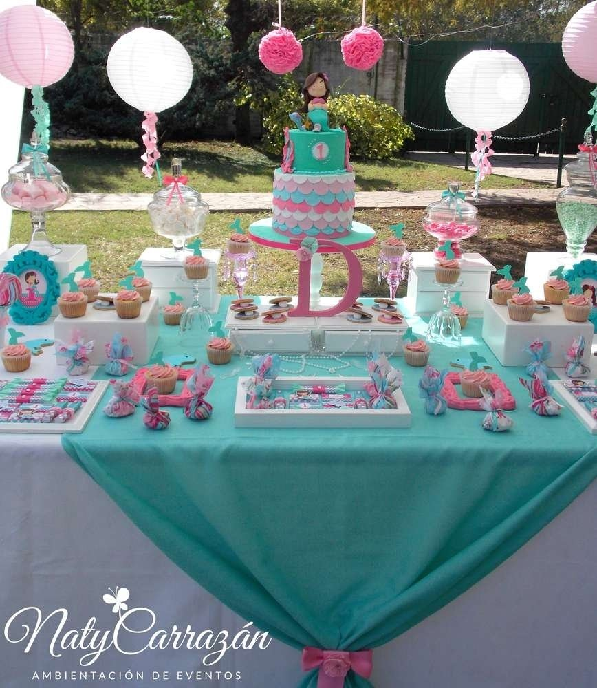 10 Great The Little Mermaid Birthday Party Ideas little mermaid birthday party ideas photo 6 of 26 catch my party 1 2021