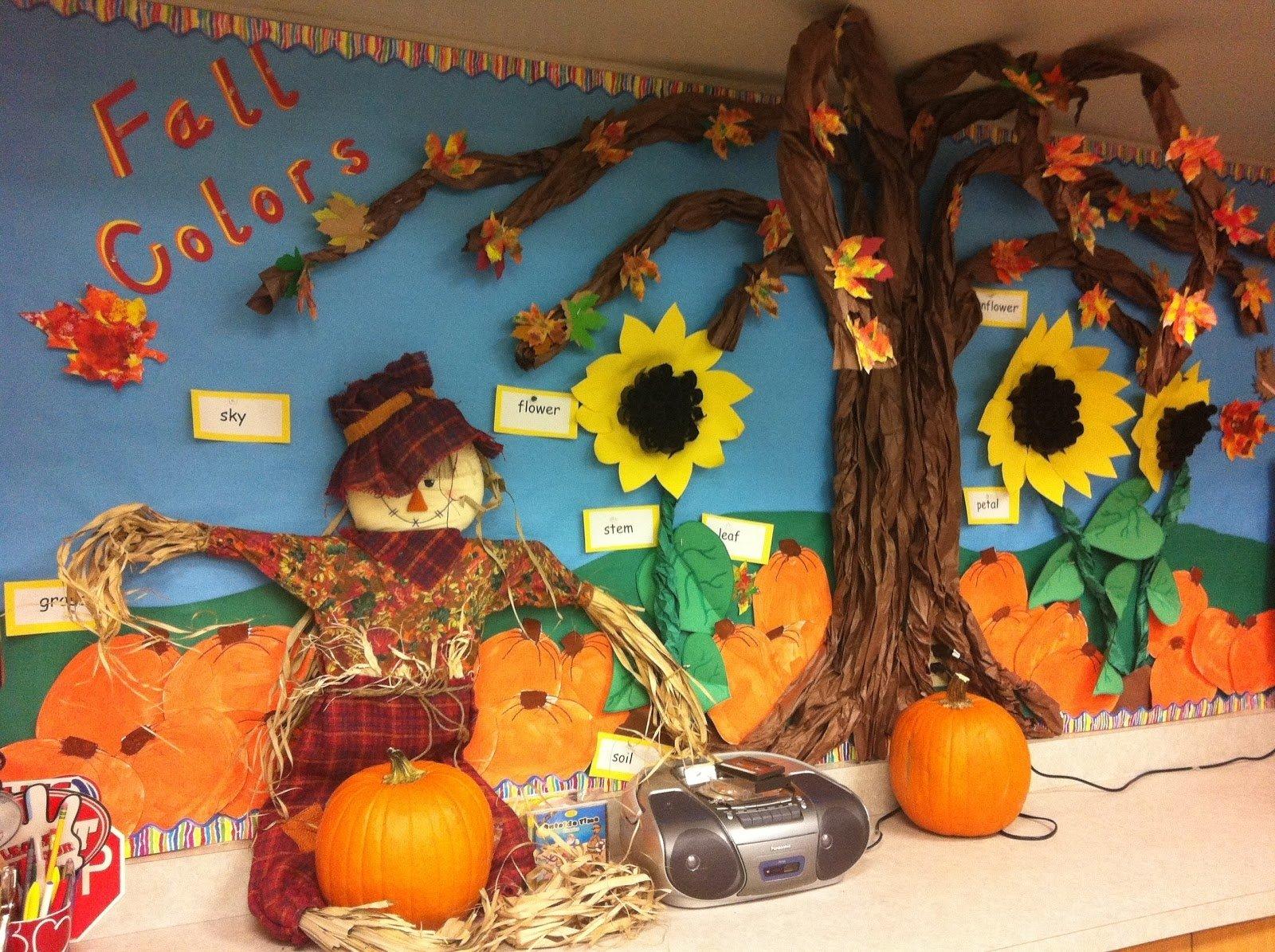 10 Fantastic Fall Halloween Bulletin Board Ideas little miss hoods adventures in kindergarten fall in kindergarten 2020