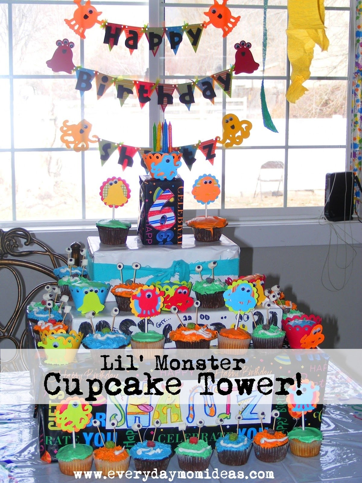 10 Cute Ideas For A 1 Year Old Birthday Party little monster bash birthday party ideas everyday mom ideas 10