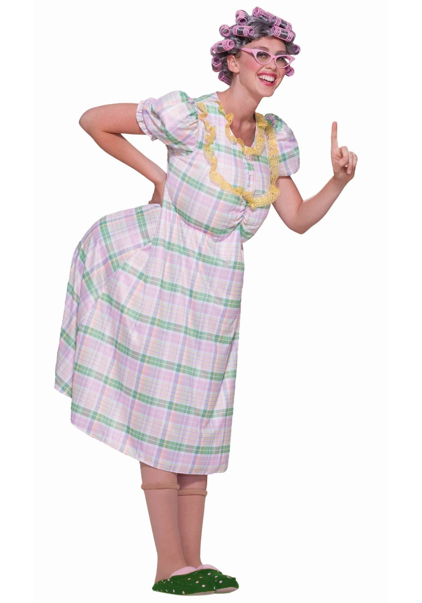little old lady costume - mean elderly woman costume ideas