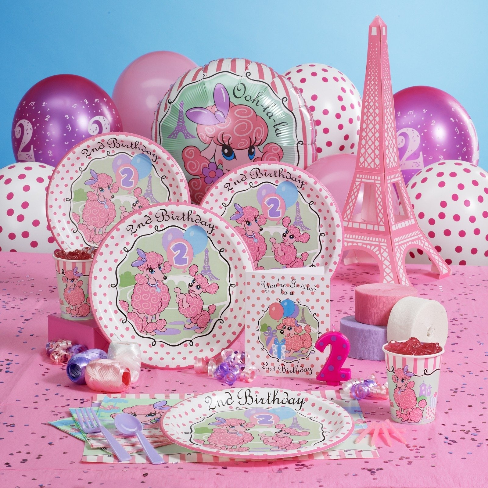 10 Stylish 2Nd Birthday Party Ideas Girl littlegirlbirthdaypartyideas unexpectedly expecting baby 3 2020