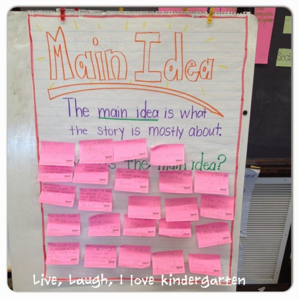 10 Stunning Main Idea Of A Book live laugh i love kindergarten whats the main idea 1 2021