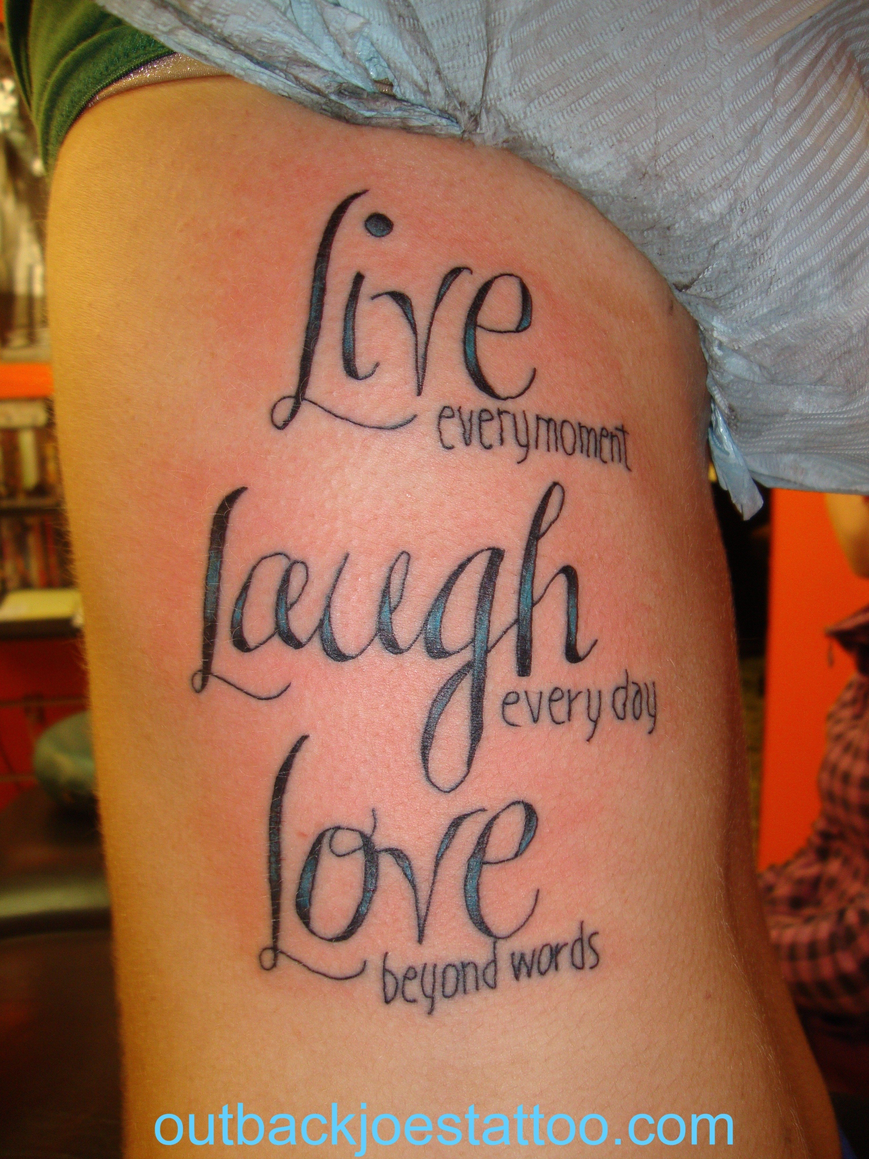10 Ideal Live Laugh Love Tattoo Ideas live laugh love tattoo for women