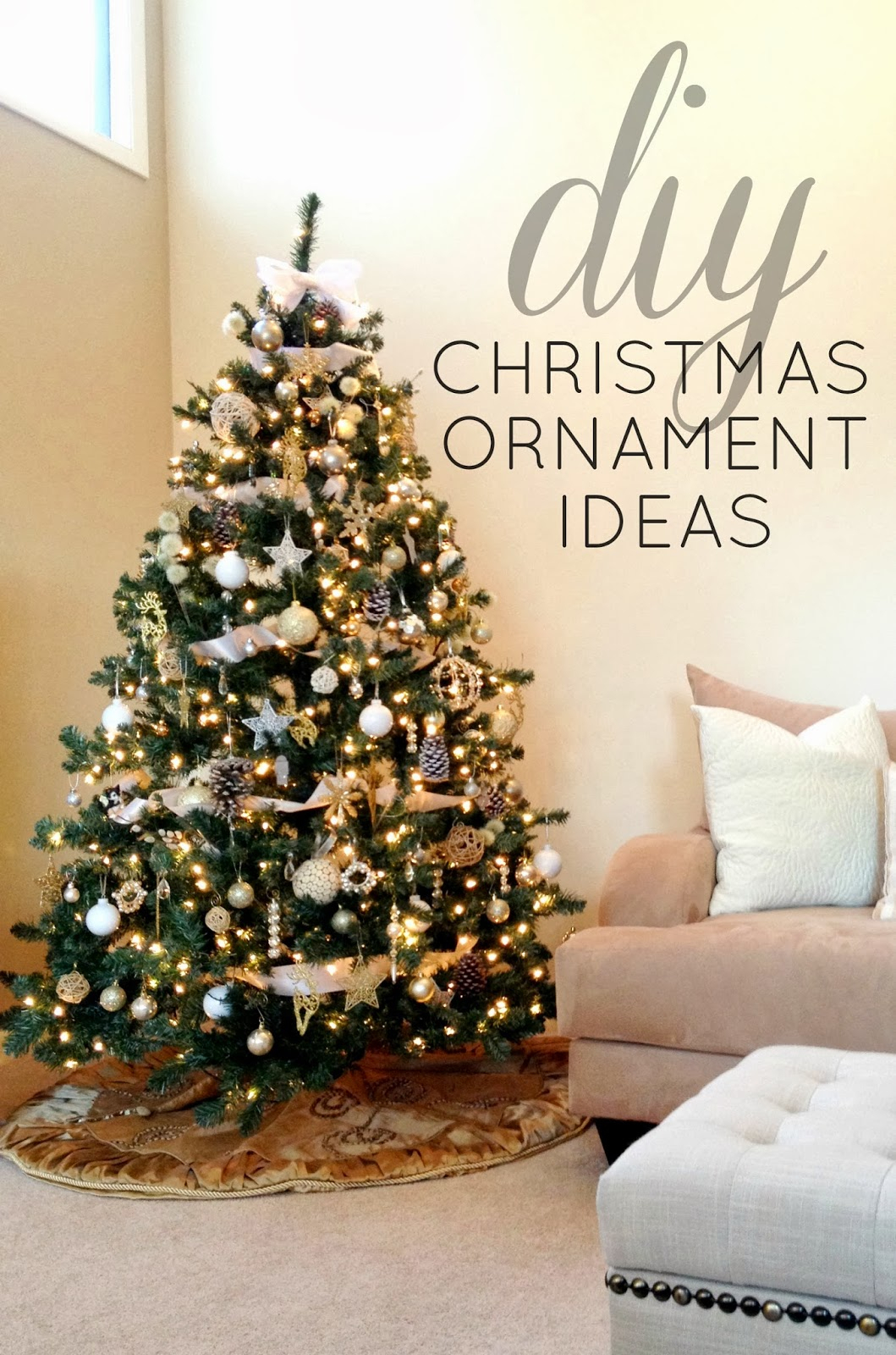 10 Attractive Ideas For Christmas Decorations To Make livelovediy diy christmas ornaments ideas