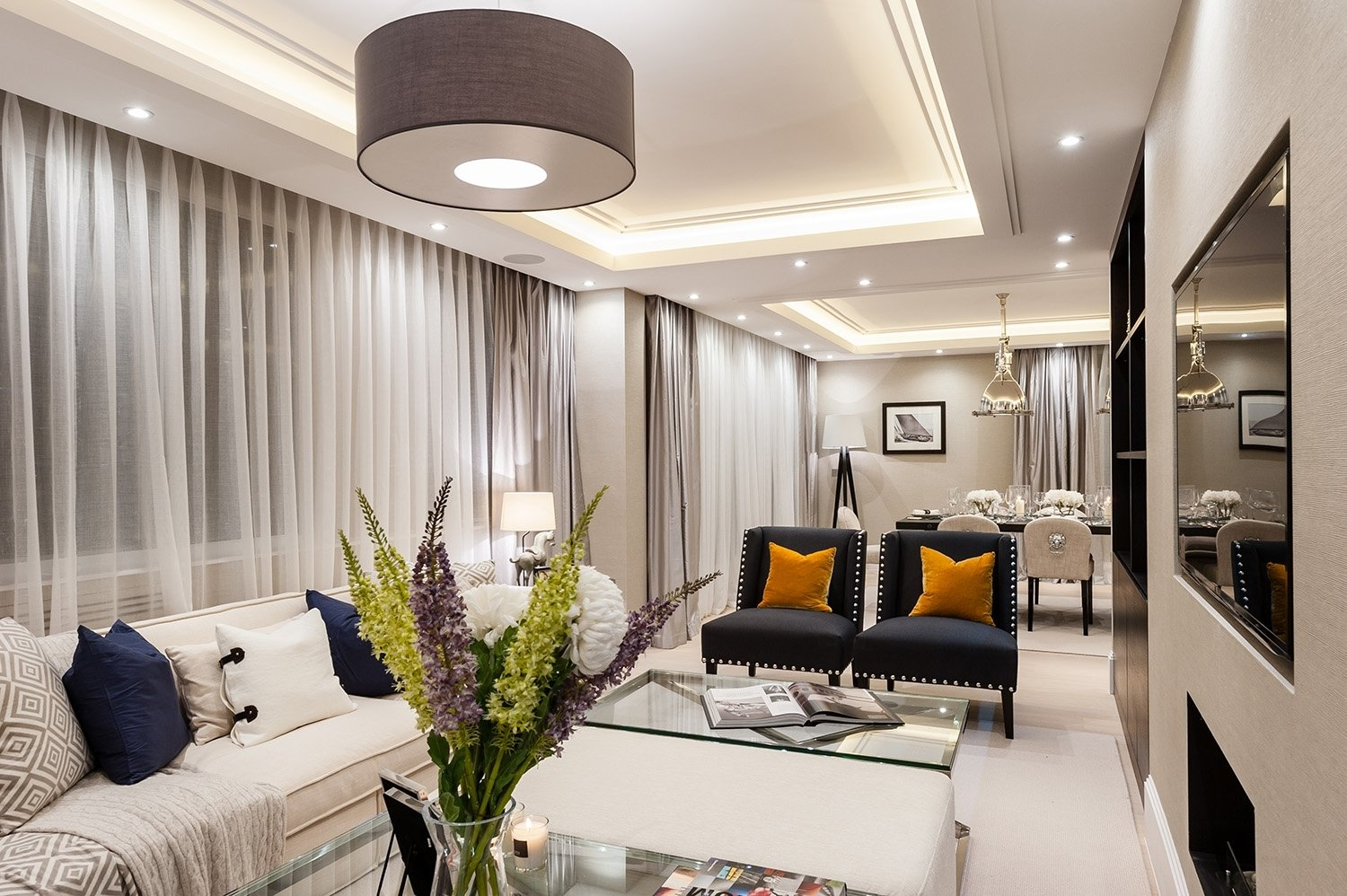 10 Amazing Narrow Living Room Design Ideas living room 22 bright stylish luxury long narrow living room 2020