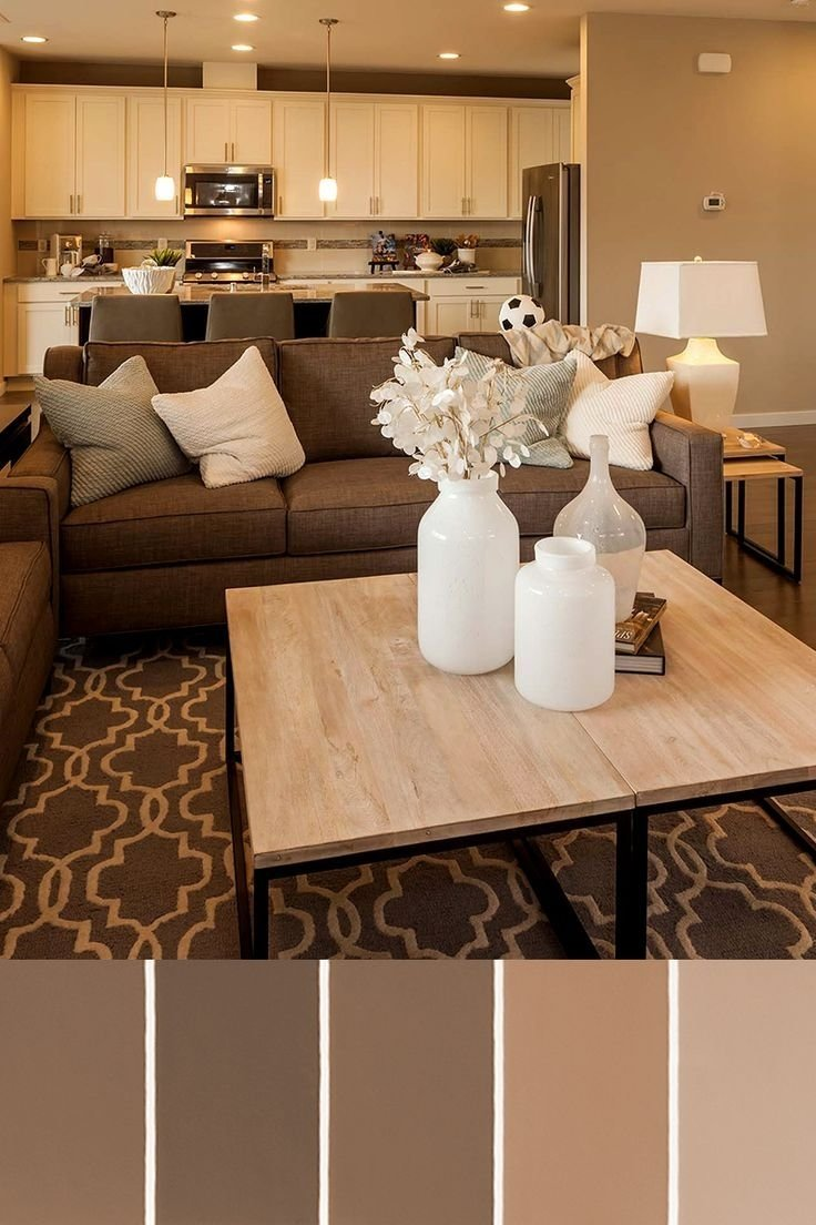10 Gorgeous Living Room Paint Ideas With Brown Furniture living room amazing color schemes for small living rooms with 2 2021