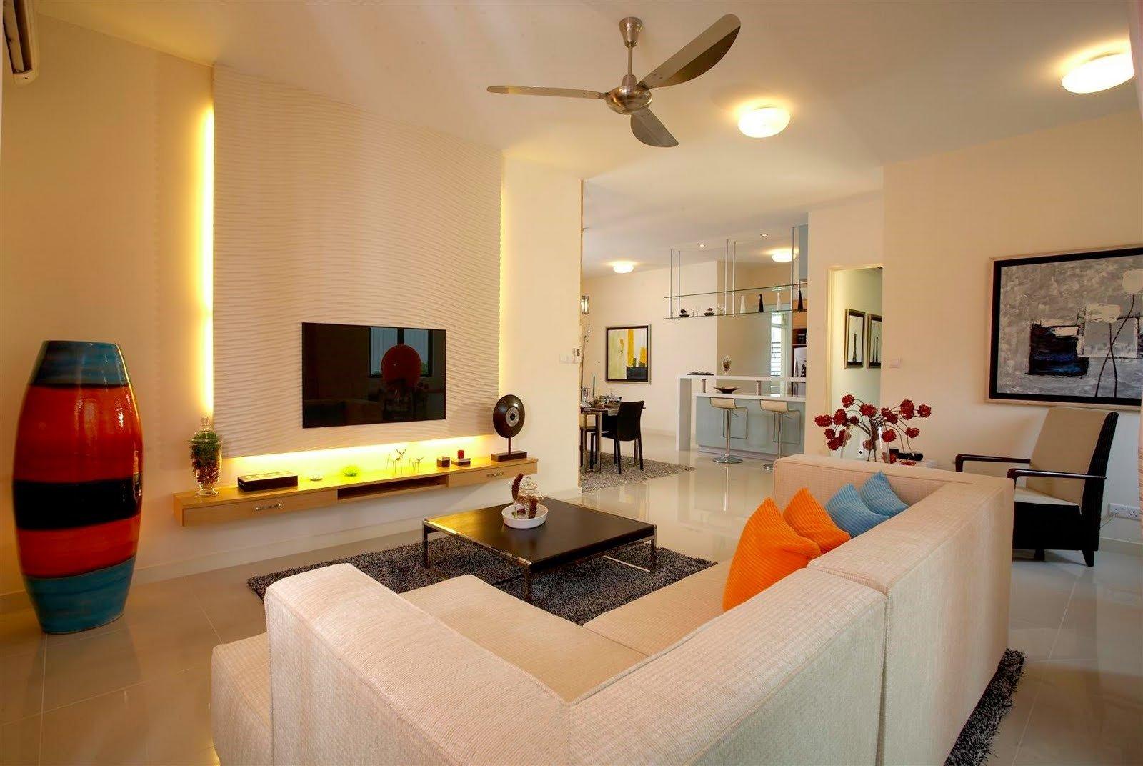 10 Elegant Large Living Room Design Ideas living room big nurani 2021