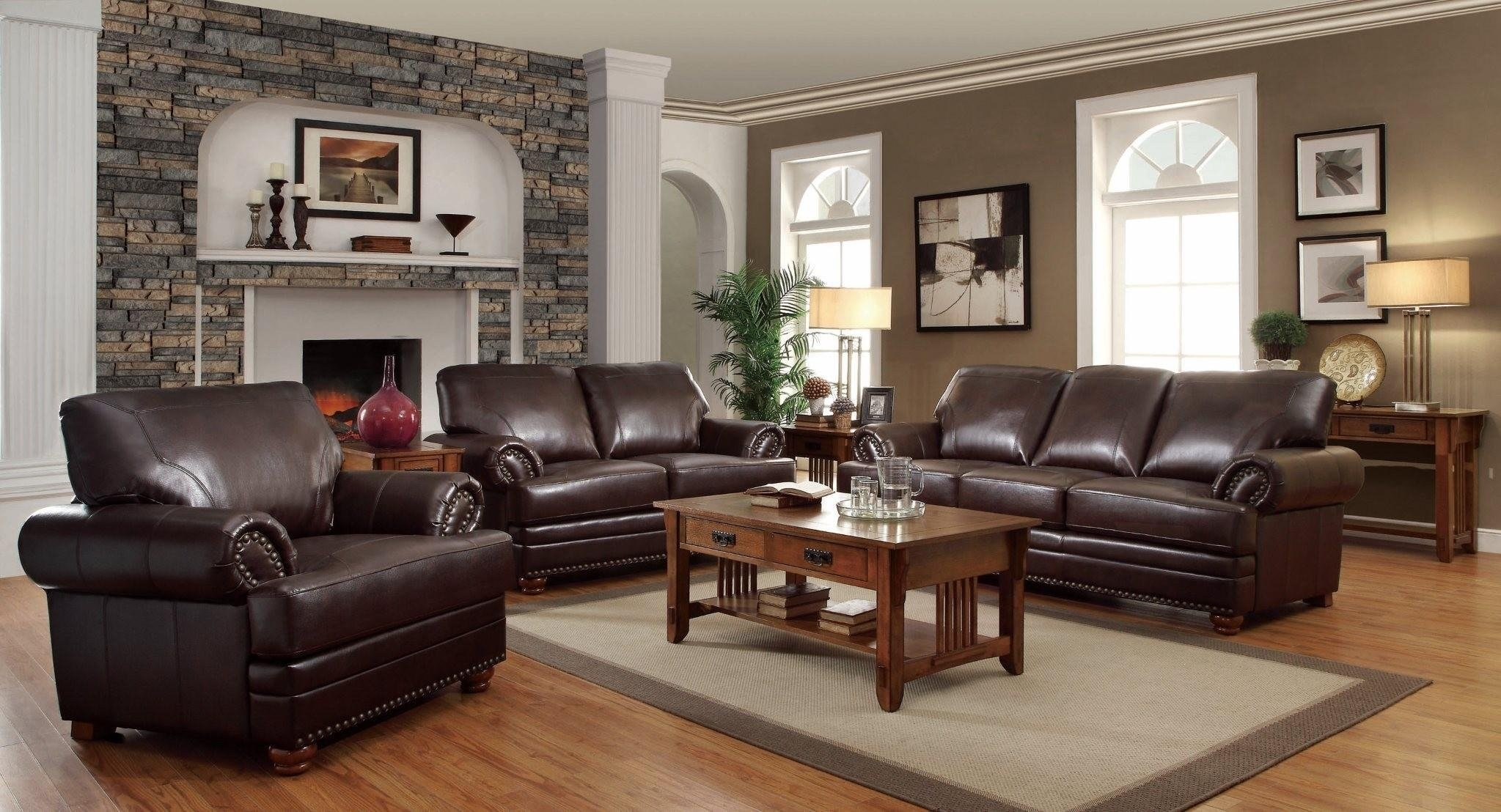 10 Awesome Leather Couch Living Room Ideas living room black and white leather sofa white leather sofa living 2020