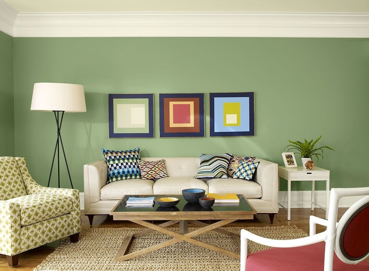 living room color ideas & inspiration | green living room ideas