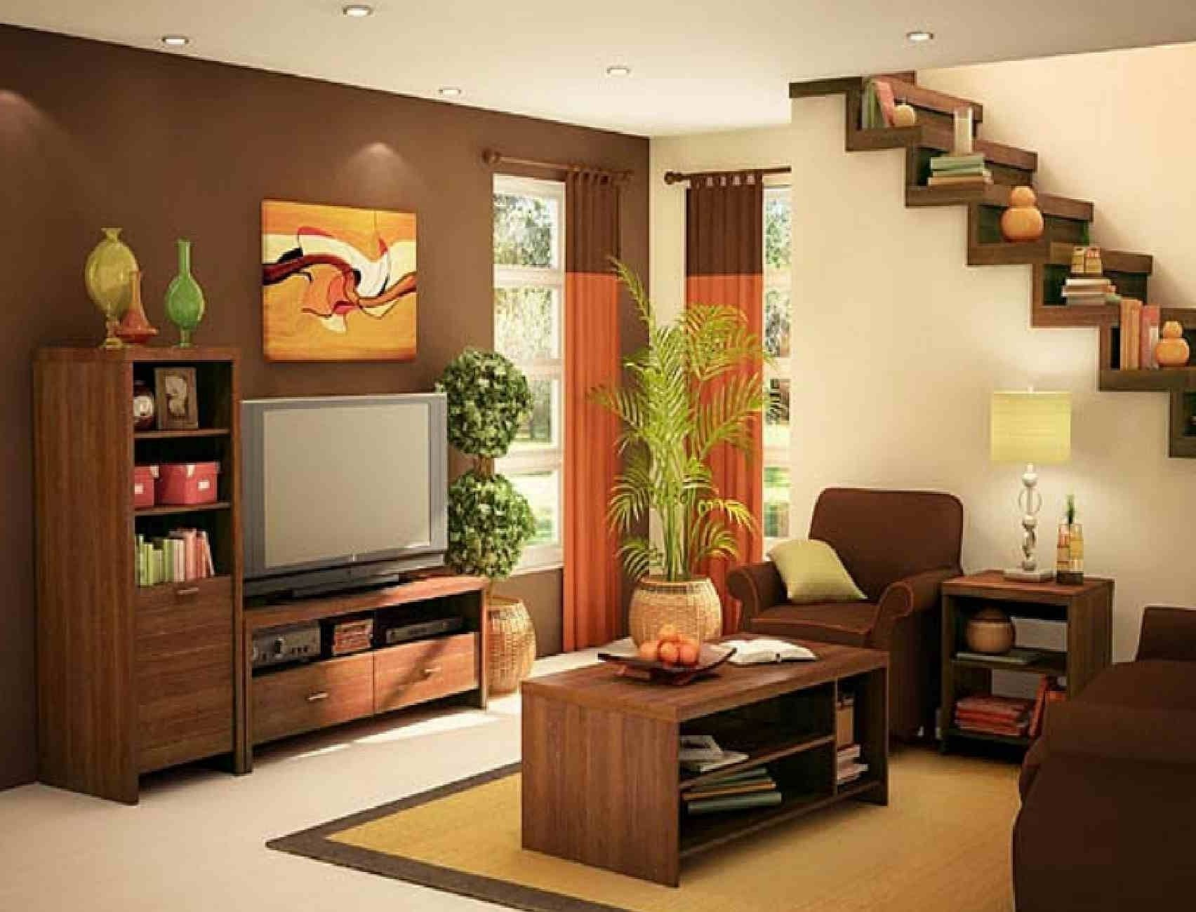 10 Best Simple Living Room Decorating Ideas living room contemporary simple living room under the stairs 2020