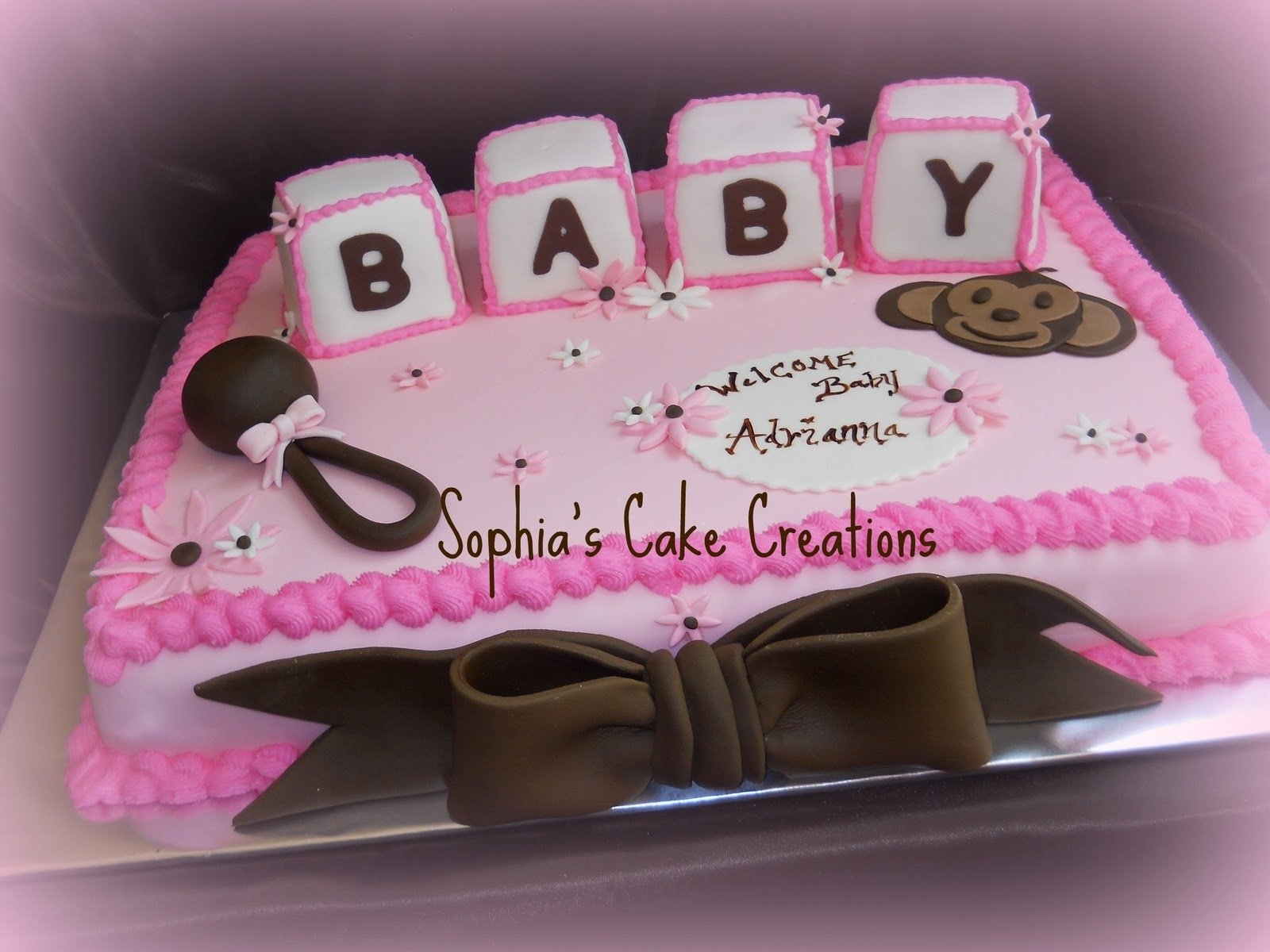 10 Trendy Pink And Brown Baby Shower Ideas living room decorating ideas baby shower cake ideas pink and brown