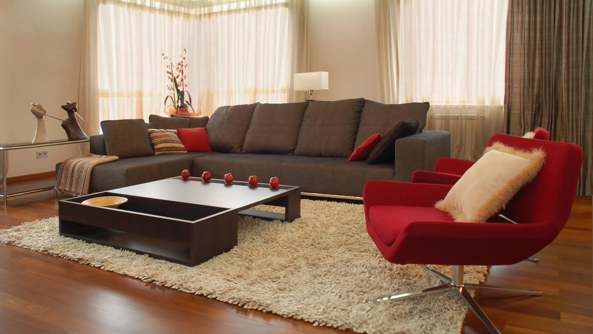 10 Best Red And Brown Living Room Ideas living room get an elegant but comfy welcoming space through brown 2020