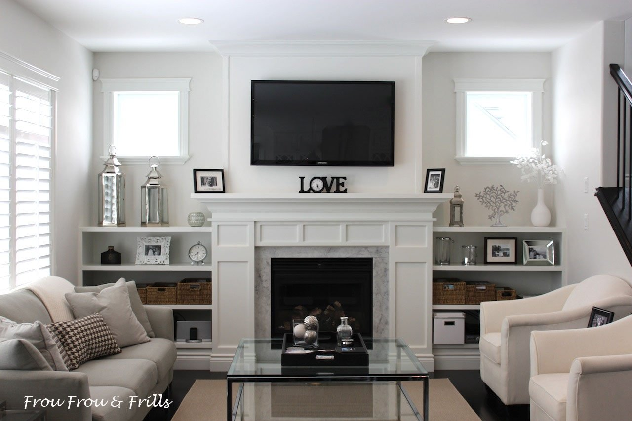 10 Elegant Living Room Ideas With Fireplace living room ideas with brick fireplace and tv wonderful looking 2021