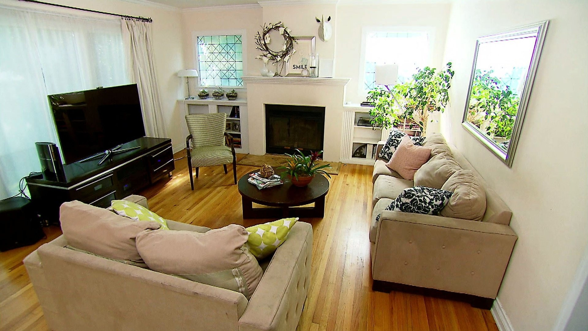 living room style on a budget | hgtv