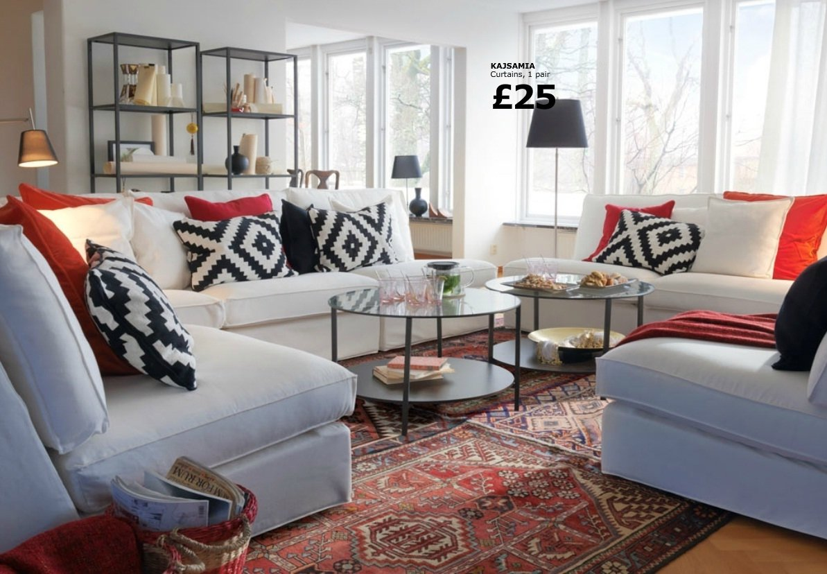 living rooms ideas decorating from ikea - decobizz