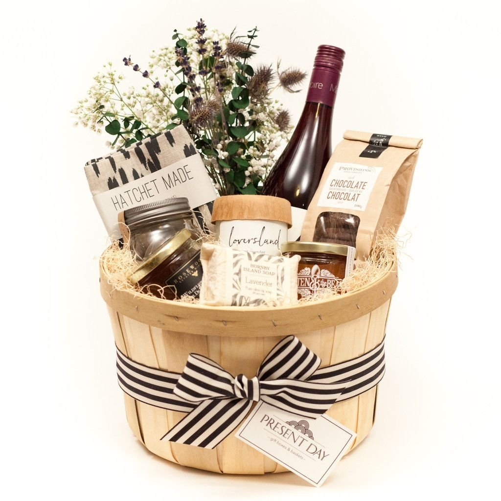 local goods basket | housewarming gifts, toronto and luxury