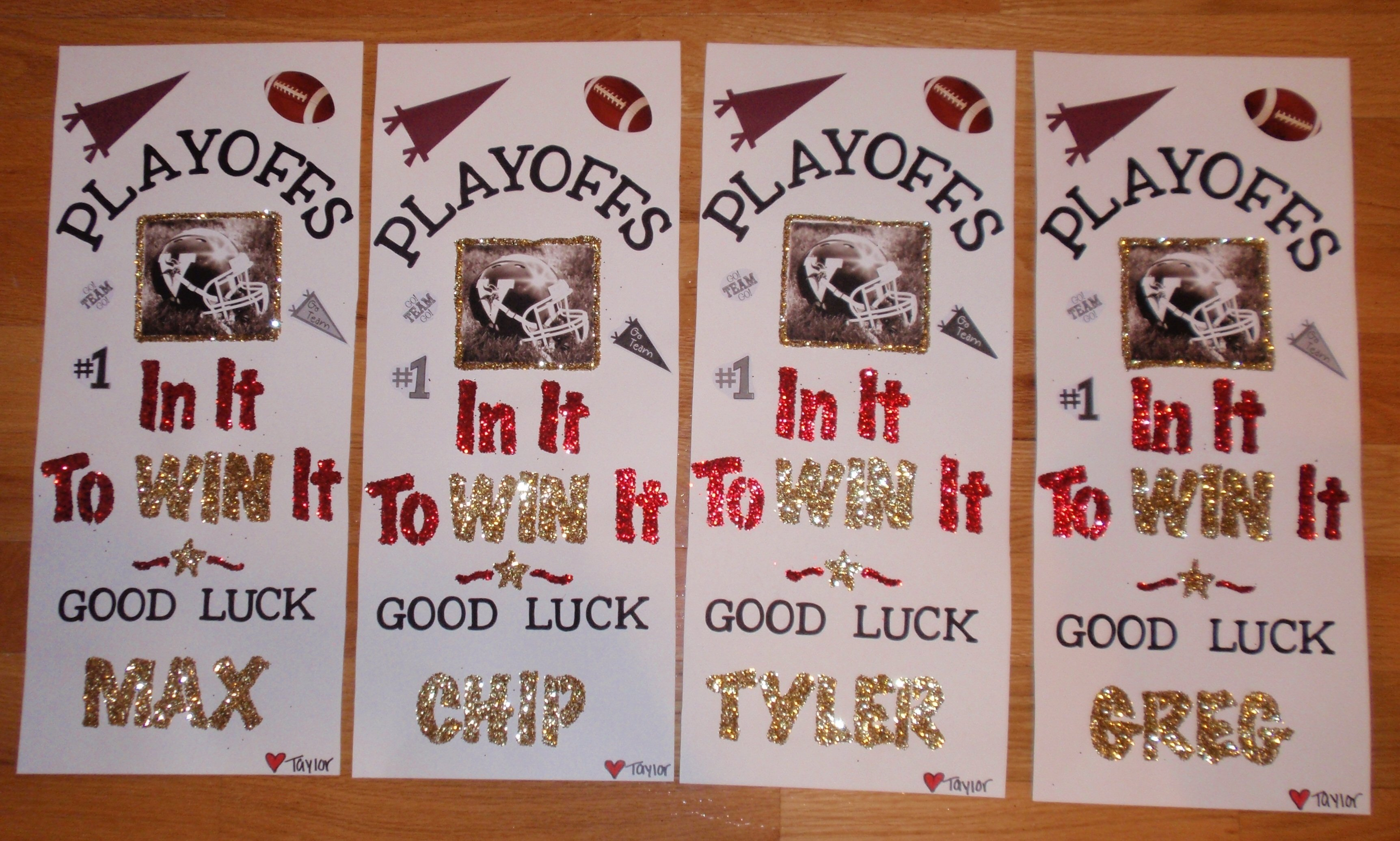 10 Unique High School Football Poster Ideas locker signs for football players cheerleader locker signs 2020