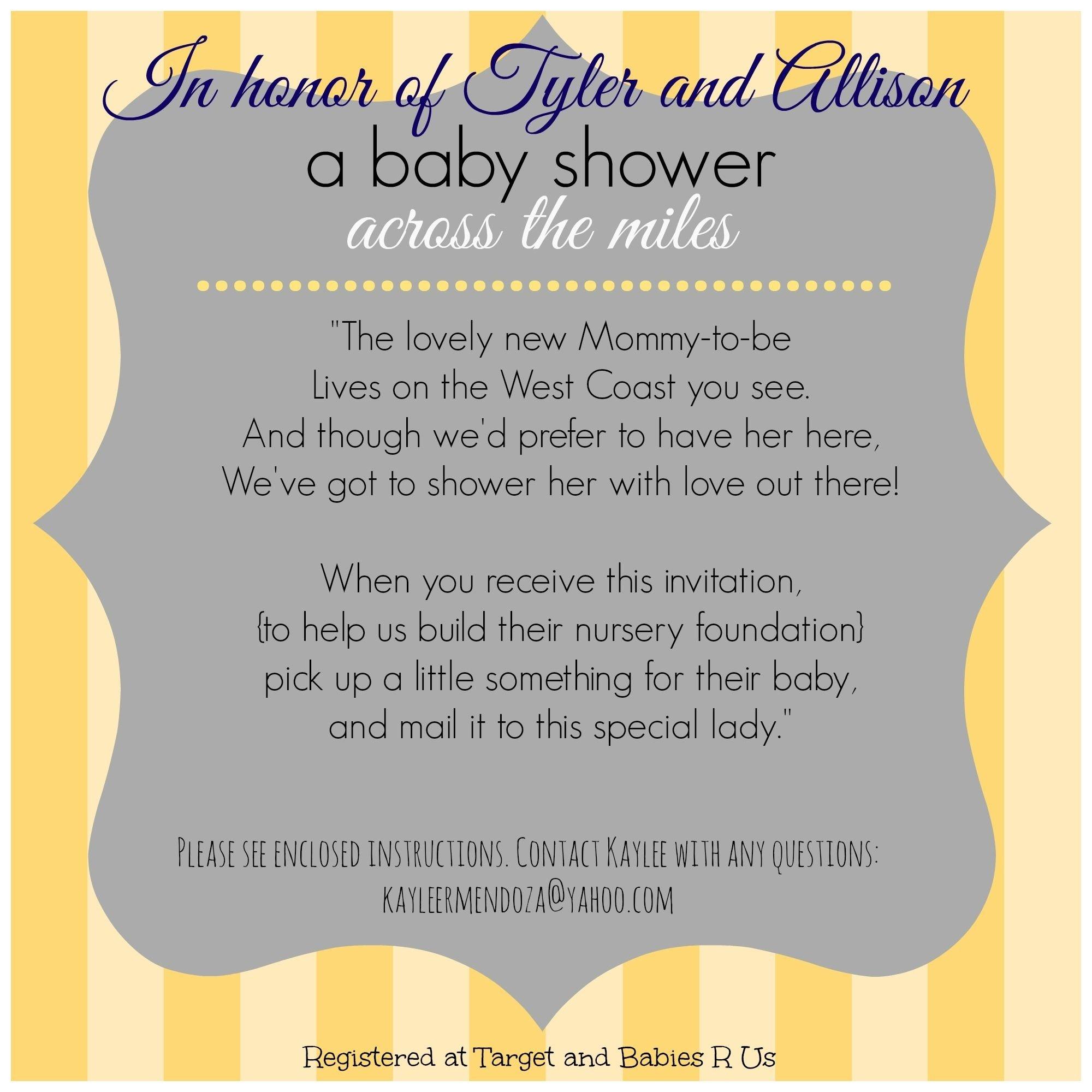 10 Cute Long Distance Baby Shower Ideas long distance baby shower invitation virtual baby shower military 2020